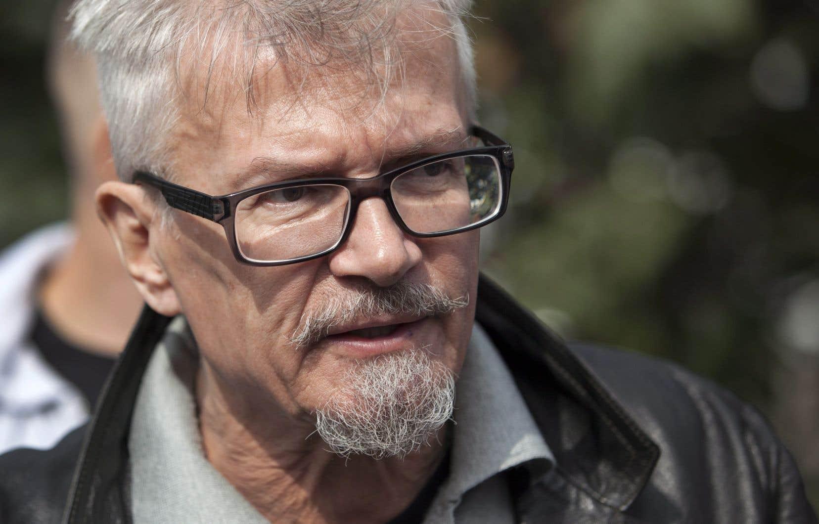 L'écrivain et militant russe Édouard Limonov en août 2013