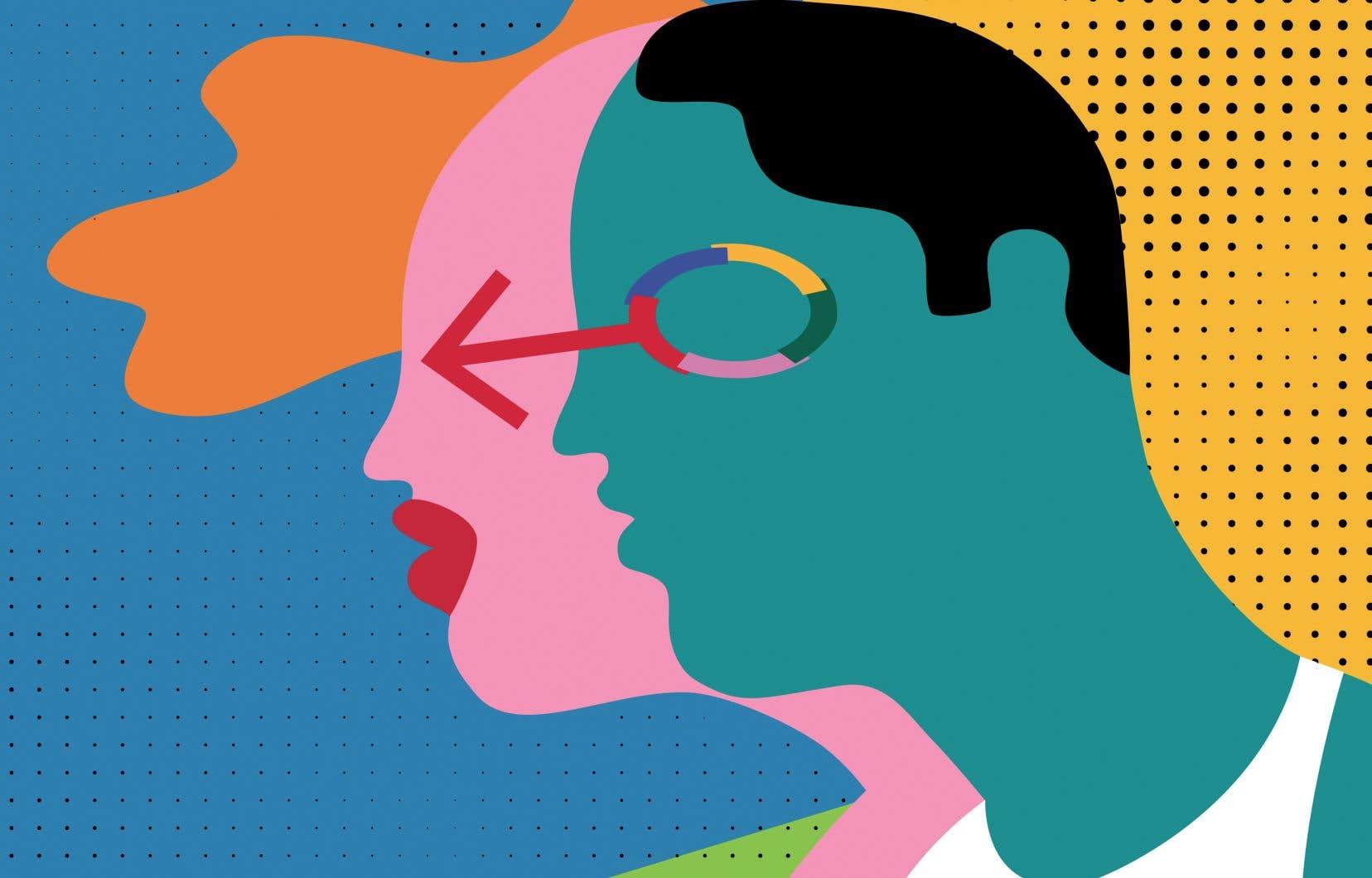 «La langue française est sexuée, donc sexiste», tandis que la langue anglaise «va vers des formes communes plutôt que divergentes», déclare la linguiste et auteure Céline Labrosse.