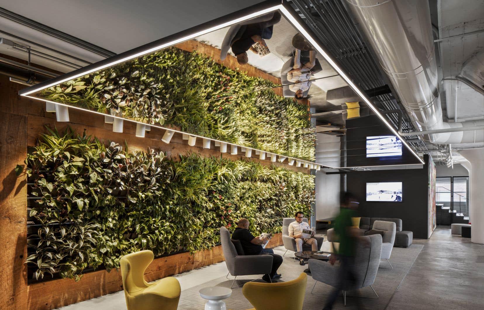 Anciennement un entrepôt, le Phénix est devenu un modèle d'efficacité énergétique avec son système de récupération de la chaleur et son mur végétal, entre autres.