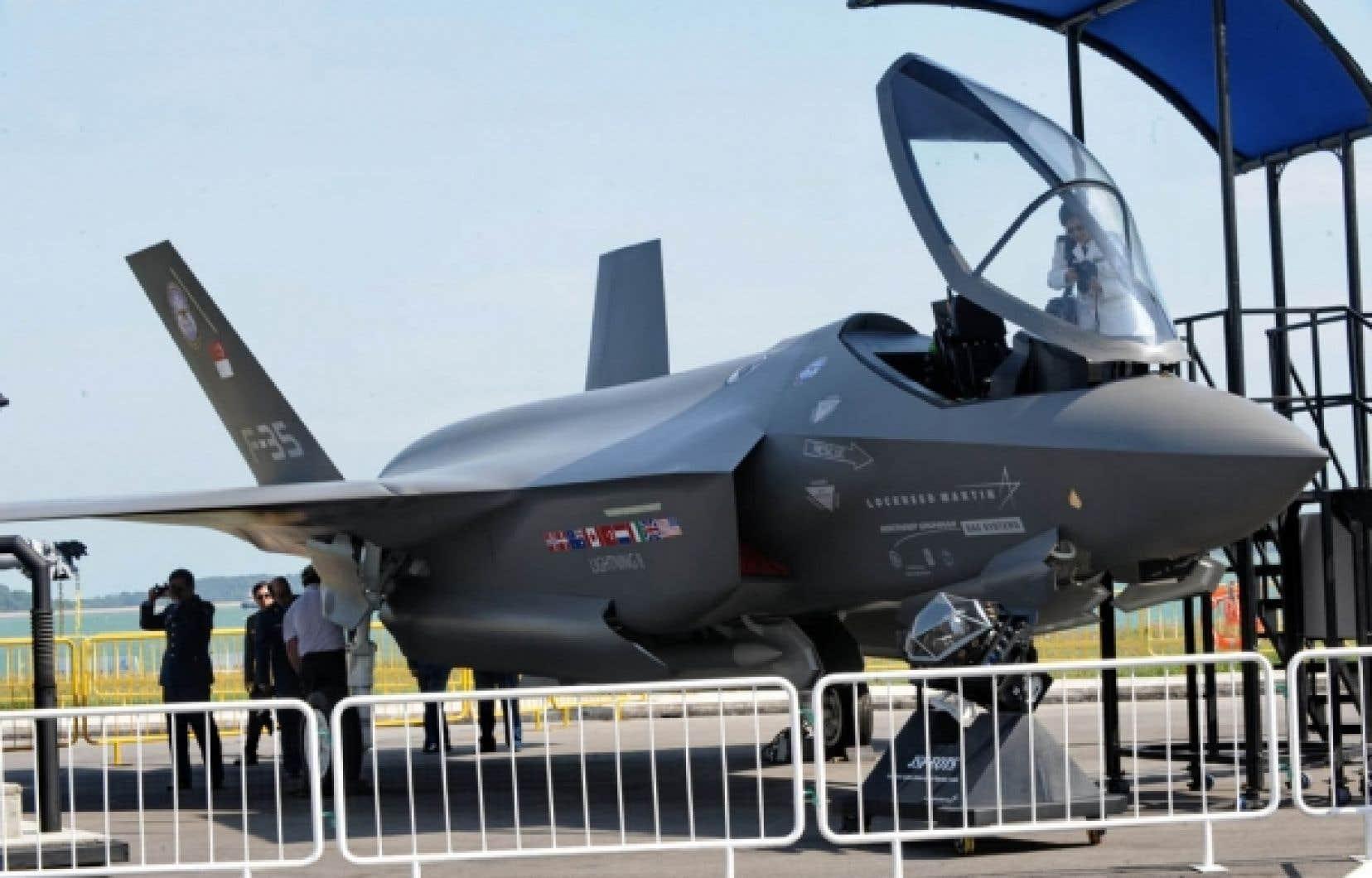 Pour l'heure, le Canada prévoit payer entre 70 et 75 millions $US pour chaque avion F-35.<br />