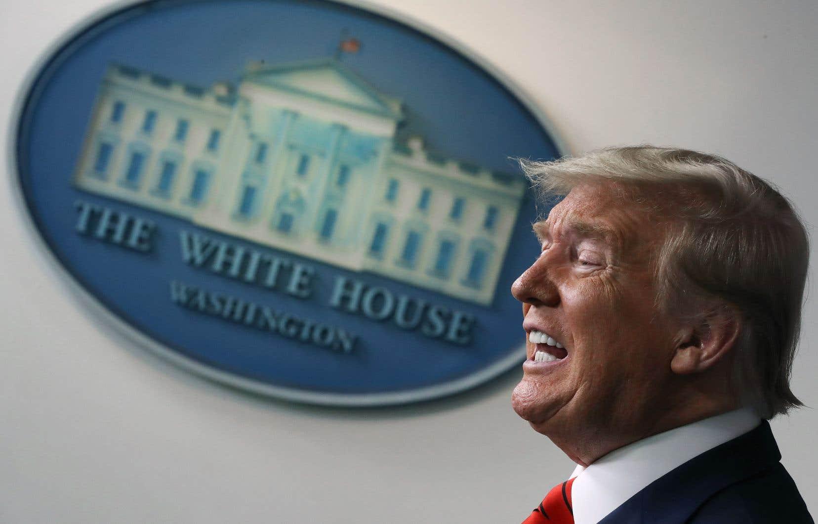 «Le monde paie le prix fort pour ce qu'ils ont fait», a affirmé Donald Trump lors d'une conférence de presse à la Maison-Blanche.