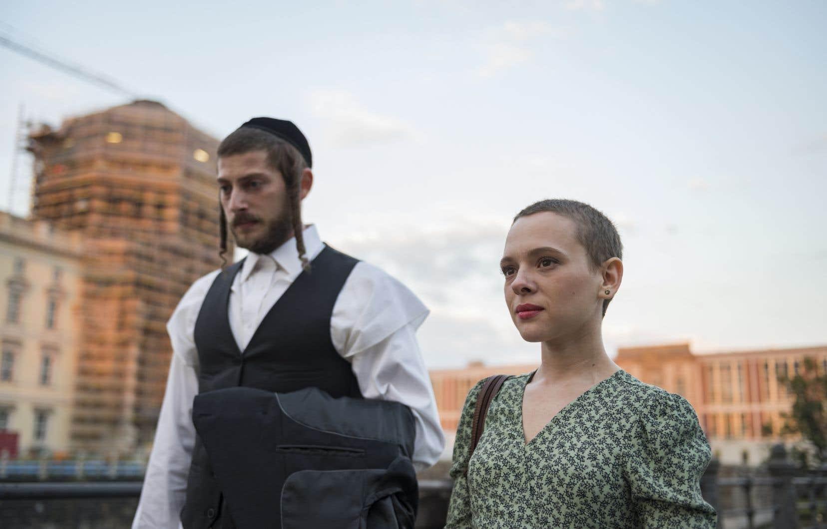 La minisérie «Unorthodox» est la<i></i>première production de Netflix tournée en grande partie en yiddish (et en anglais).