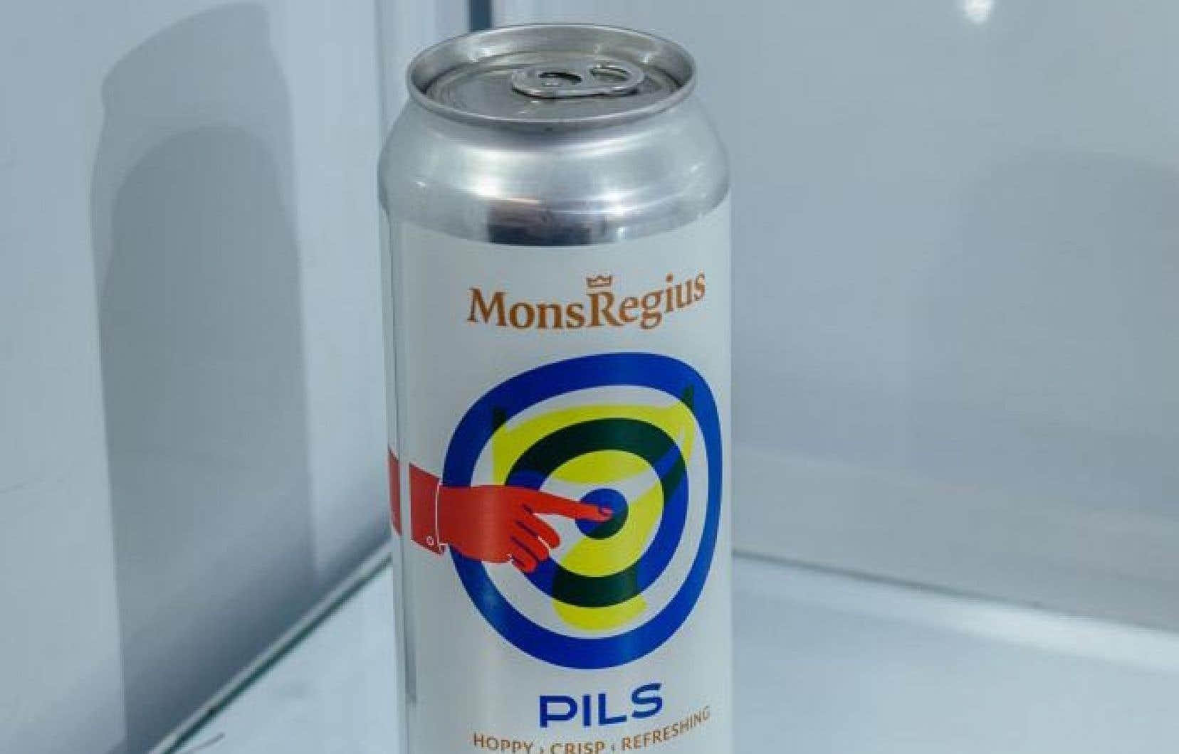 Nous suggérons cette semaine la délicieuse Pils à l'italienne de Mons Regius.