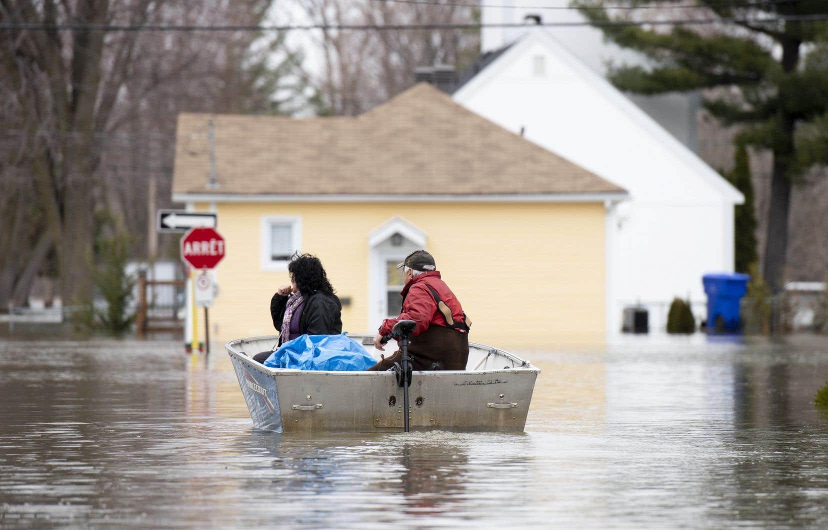 L'an dernier, Gatineau avait été durement touchée par les inondations printanières.