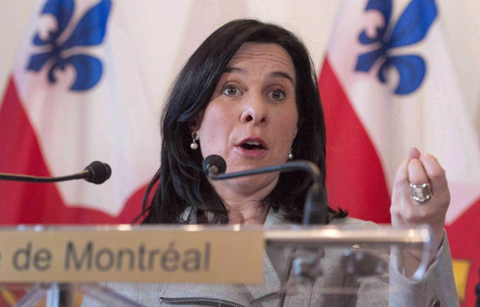 «On veut contribuer à la santé économique de tous et chacun», a affirmé la mairesse de Montréal, Valérie Plante.