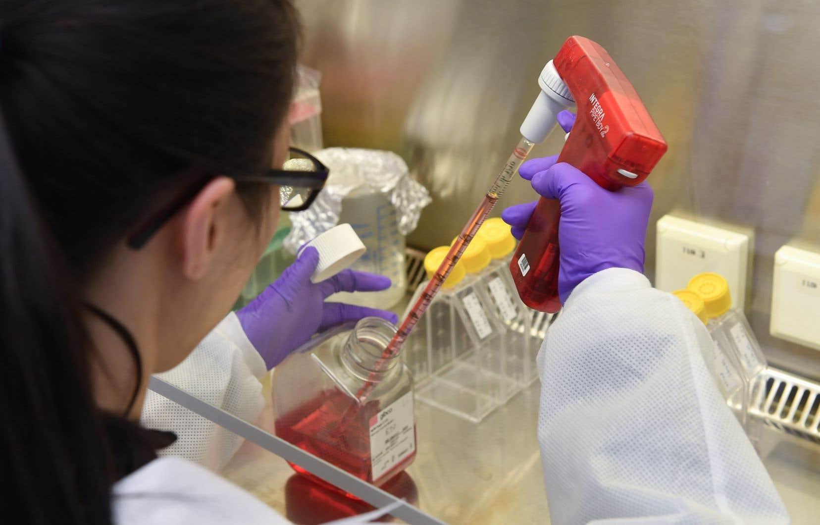 Partout dans le monde, des multinationales de l'industrie pharmaceutique travaillent à mettre au point un vaccin contre la COVID-19.