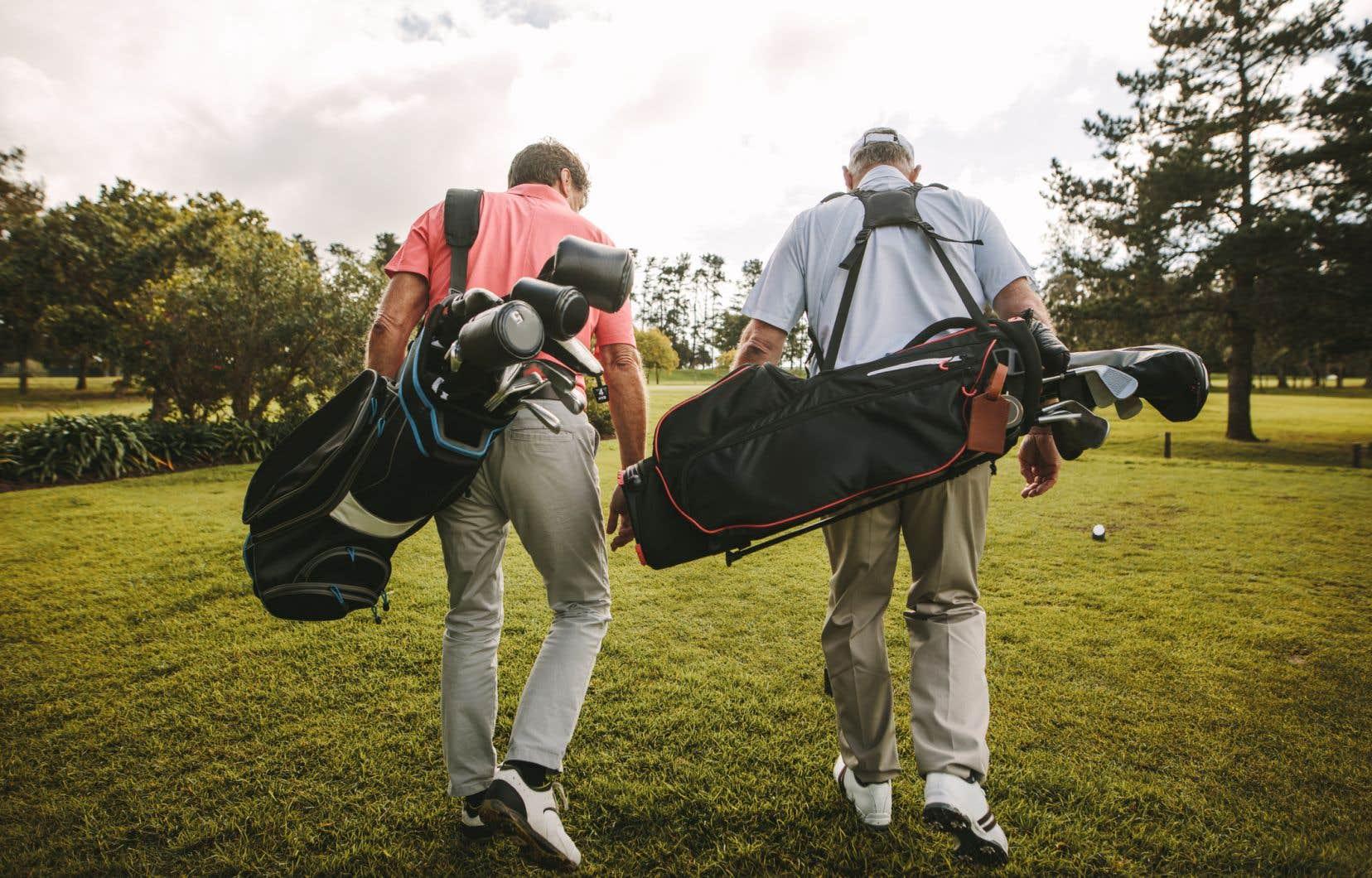 «Le golf, à mon avis, est probablement l'un des sports les moins à risque de transmission», affirmeSylvain Patry, au Club International 2000 de Saint-Bernard-de-Lacolle.