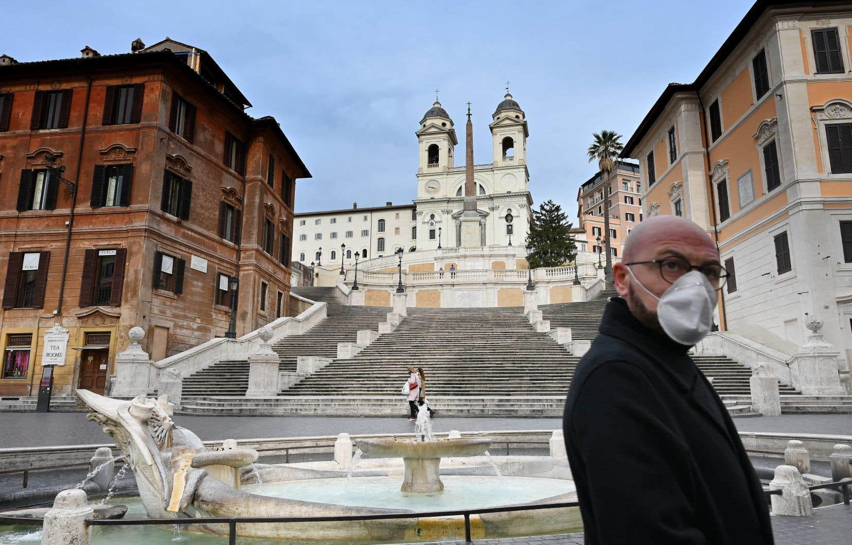 L'Italie est désormais l'épicentre de la pandémie du coronavirus.