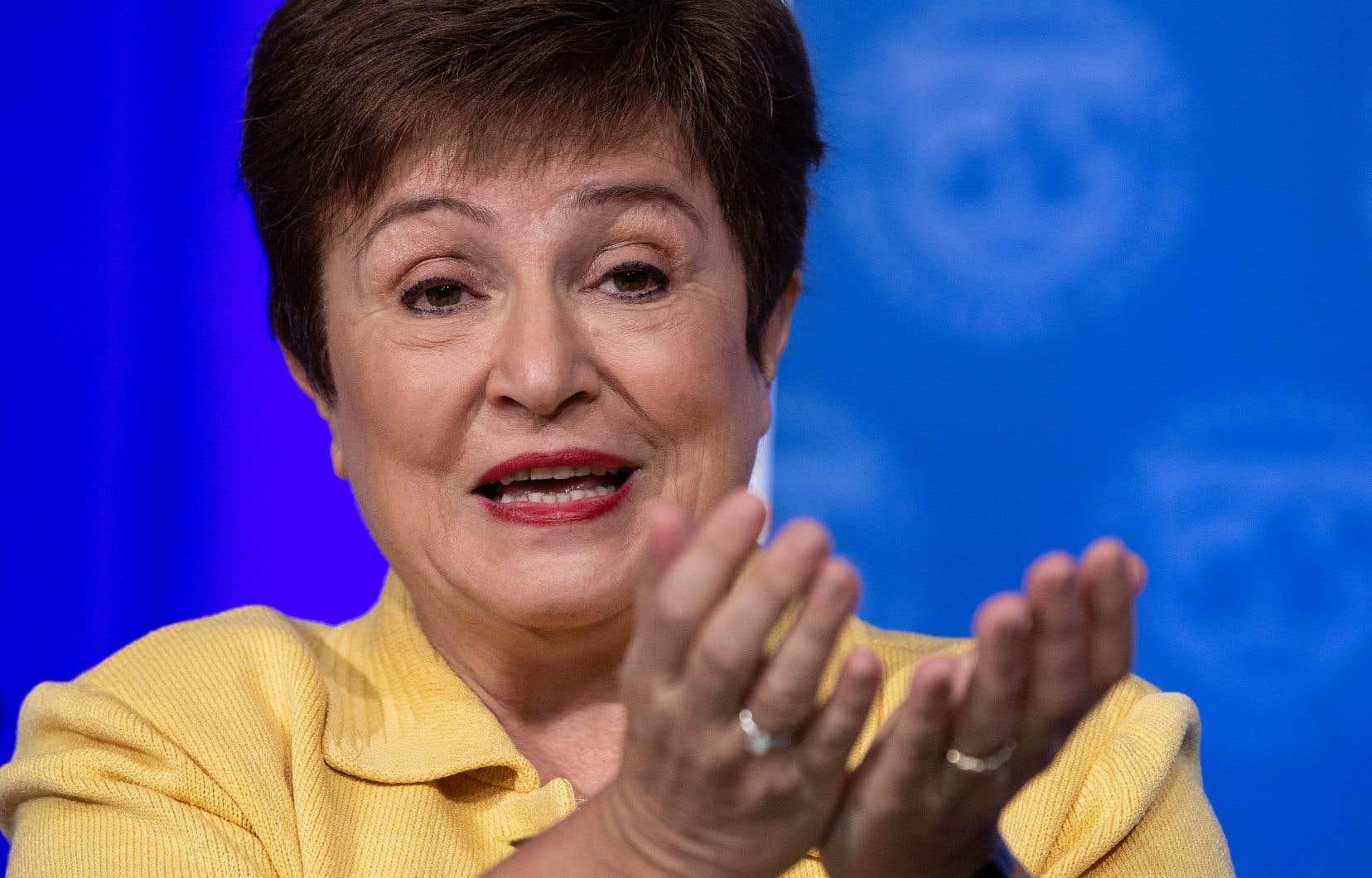 Selon la directrice générale du Fonds monétaire international, Kristalina Georgieva, une reprise est attendue en 2021.