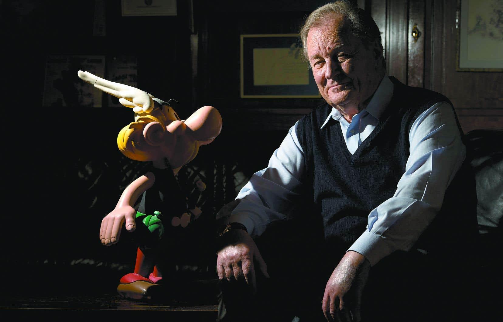La carrière du dessinateur d'Astérix et Obélix, Albert Uderzo, a pris son envol en 1950, peu de temps avant qu'il ne rencontre son complice René Goscinny.