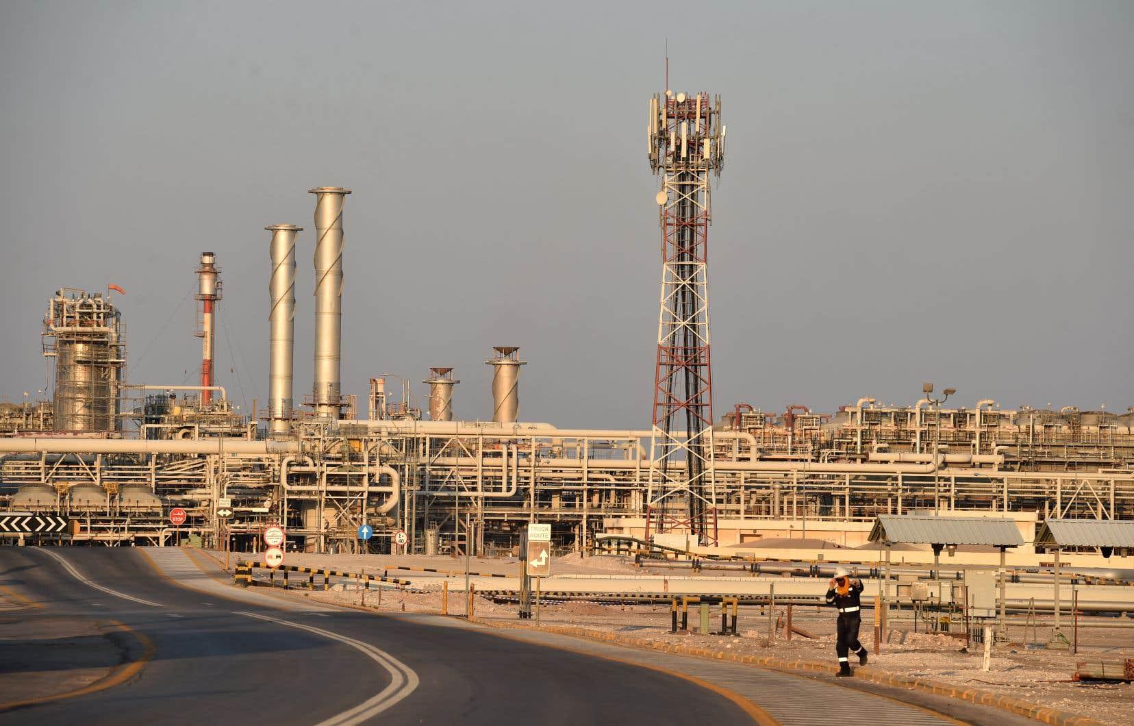 Un gisement pétrolifère à Abqaiq, en Arabie saoudite
