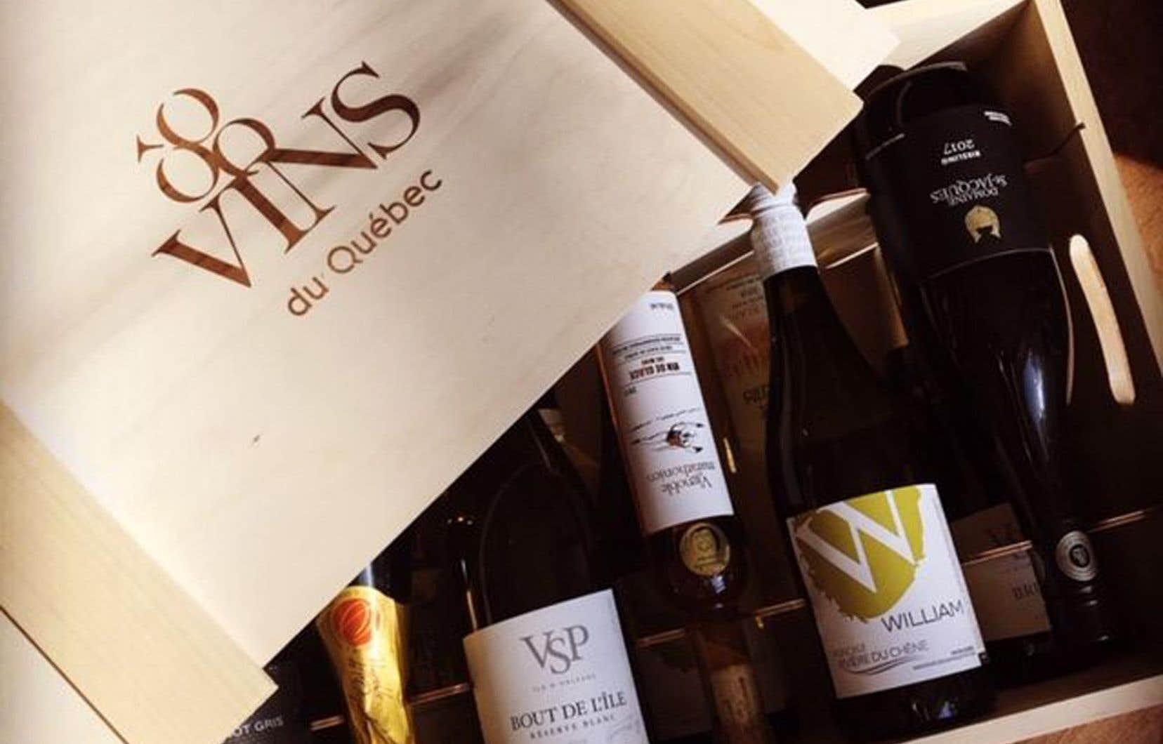 Une petite place pour les vins de chez nous dans votre caisse?