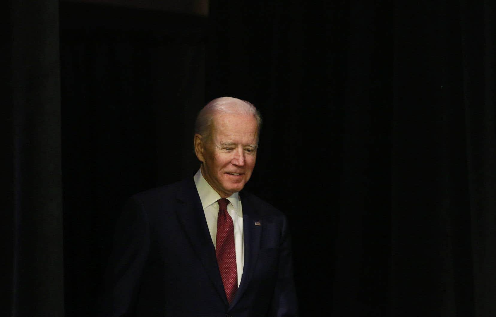 Joe Biden a disparu quelques jours de la campagne.