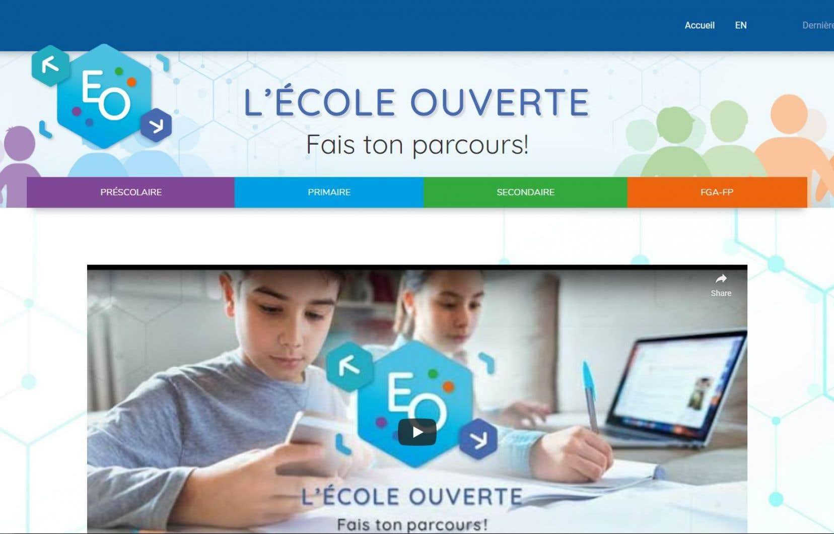 La plateforme en ligneoffre des ressources variées donnant accès à des activités de différentes natures dans plusieurs matières et à tous les niveaux scolaires.