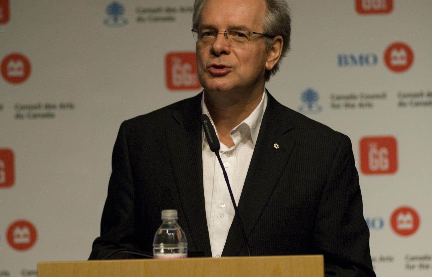 Ledirecteur et chef de direction du Conseil des arts du Canada, Simon Brault
