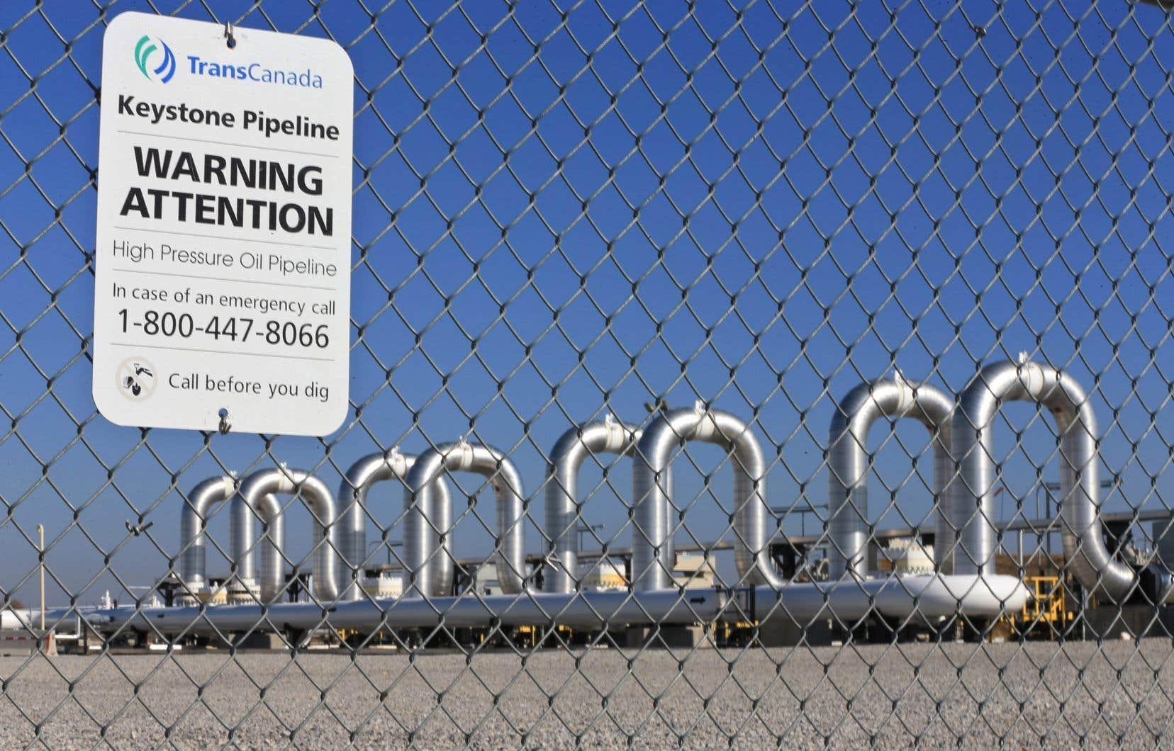 La société anciennement connue sous le nom de TransCanada indique que les activités de préconstruction sont en cours et que le pipeline devrait être mis en fonction en 2023.