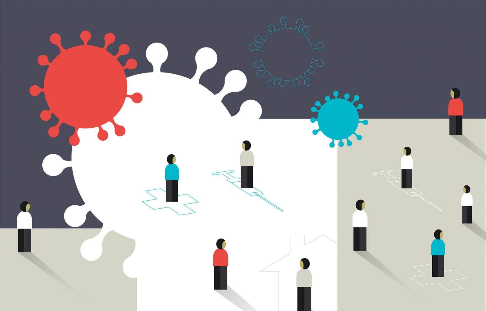 Le confinement imposé par la crise du coronavirus influe sur nos besoins psychologiques essentiels, et il ne fautpas minimiser la frustration que la situation peut engendrer.