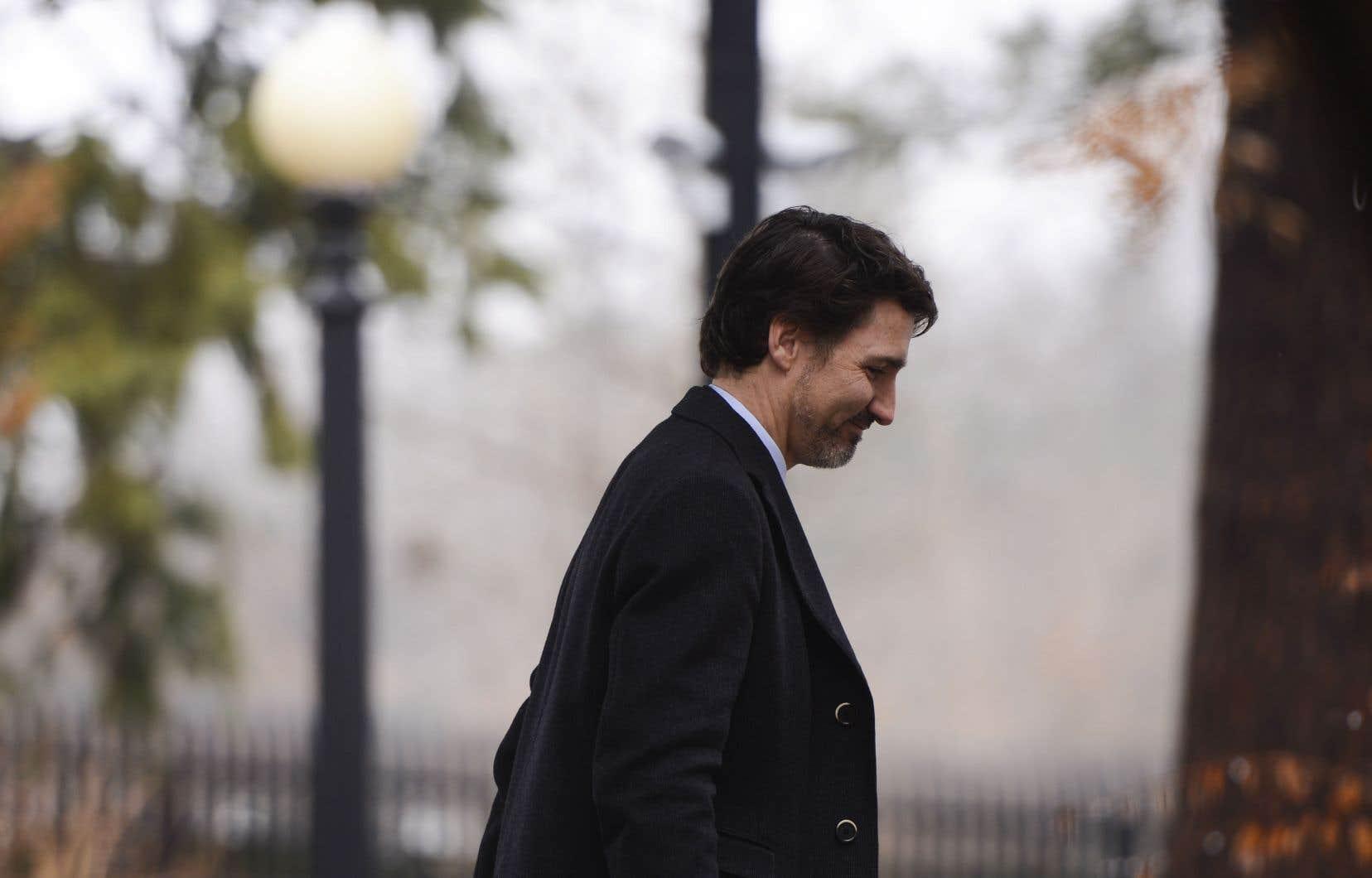 M.Trudeau s'est dit disposé à piger dans la réserve fédérale d'équipement médical.