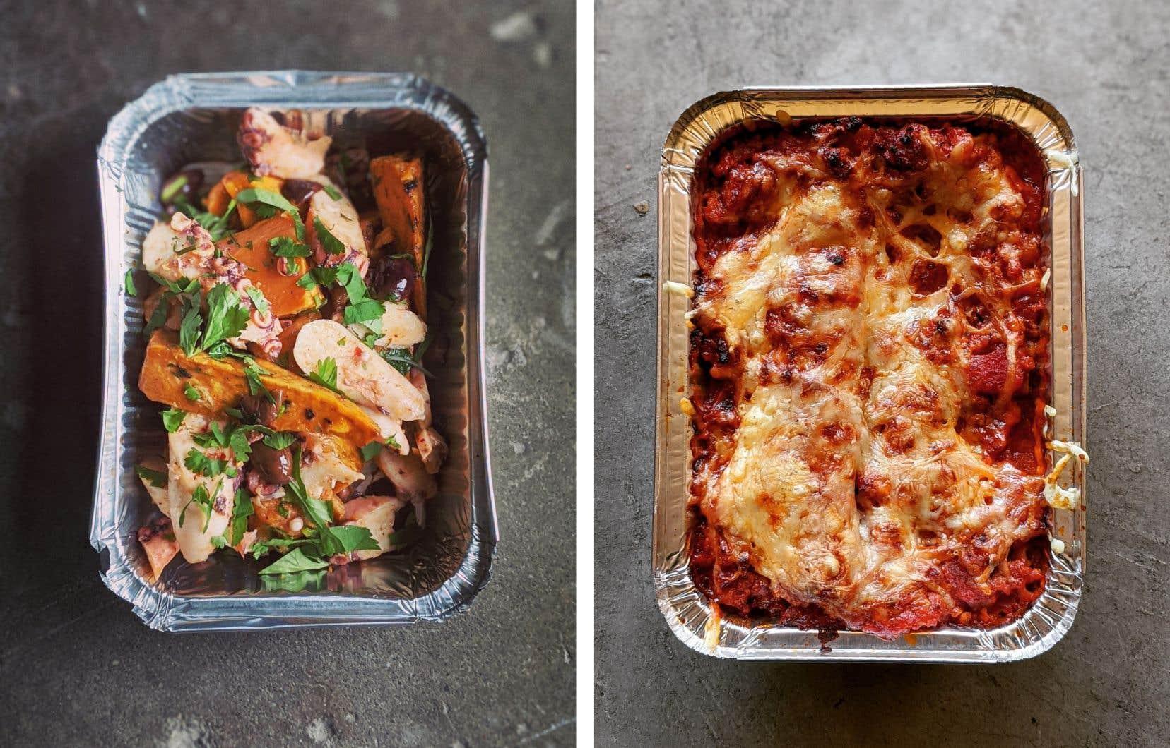 Plusieurs restaurants, comme le Pastaga, proposent des plats à emporter pour éviter le gaspillage ainsi que les lourdes pertes financières.