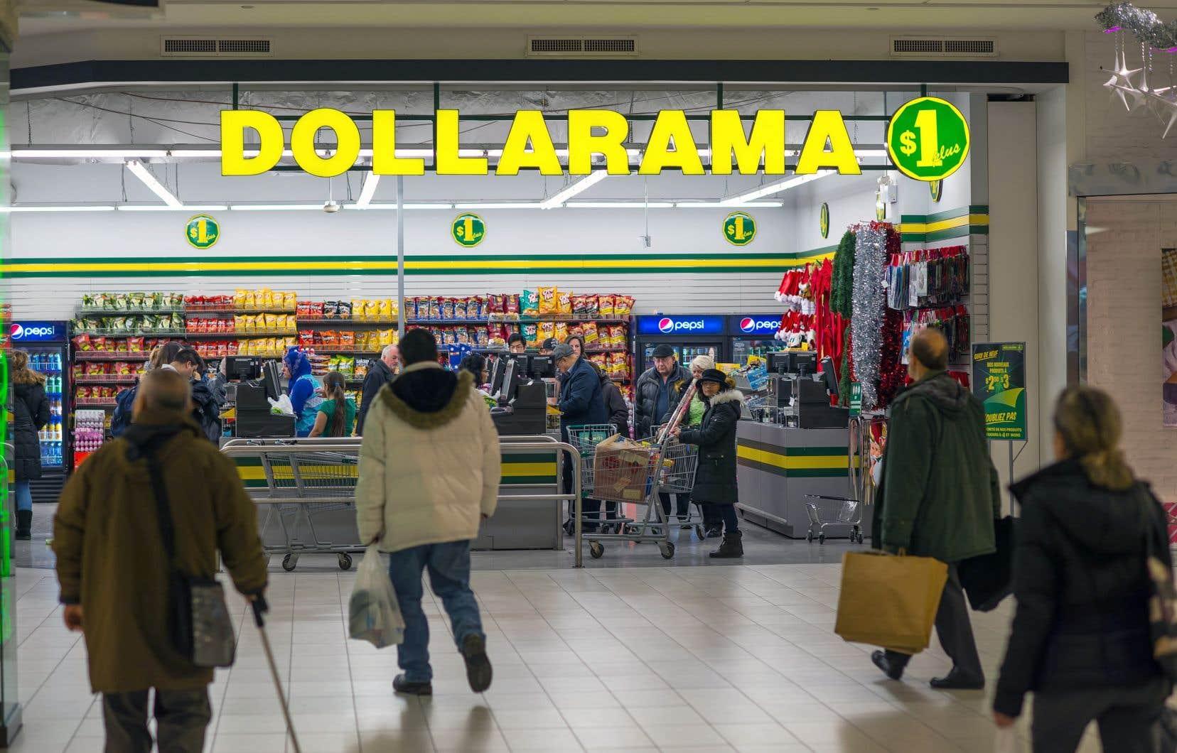 Si Dollarama a obtenu le statut de service essentiel, il a néanmoins dû fermer 54 des 1291 établissements de son réseau.