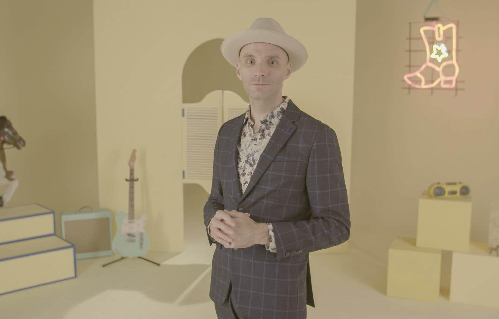 Le guitariste charismatique Pascal Allard  assure l'animation de la série.