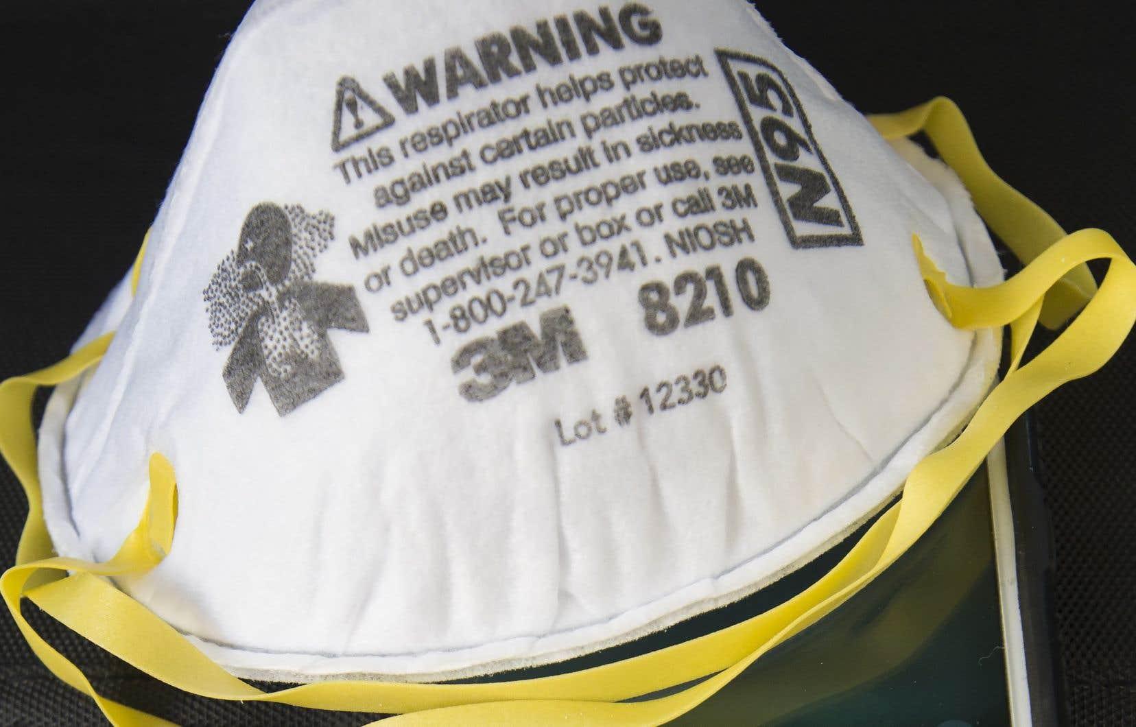 Un masque N95 fabriqué par 3M