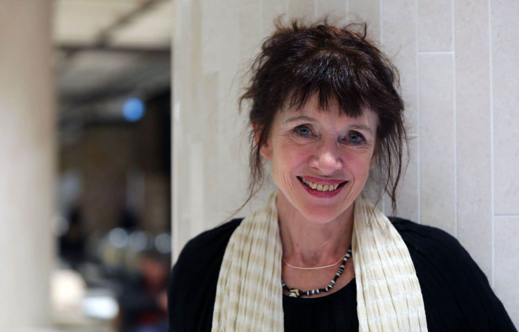 L'écrivaine Nancy Huston