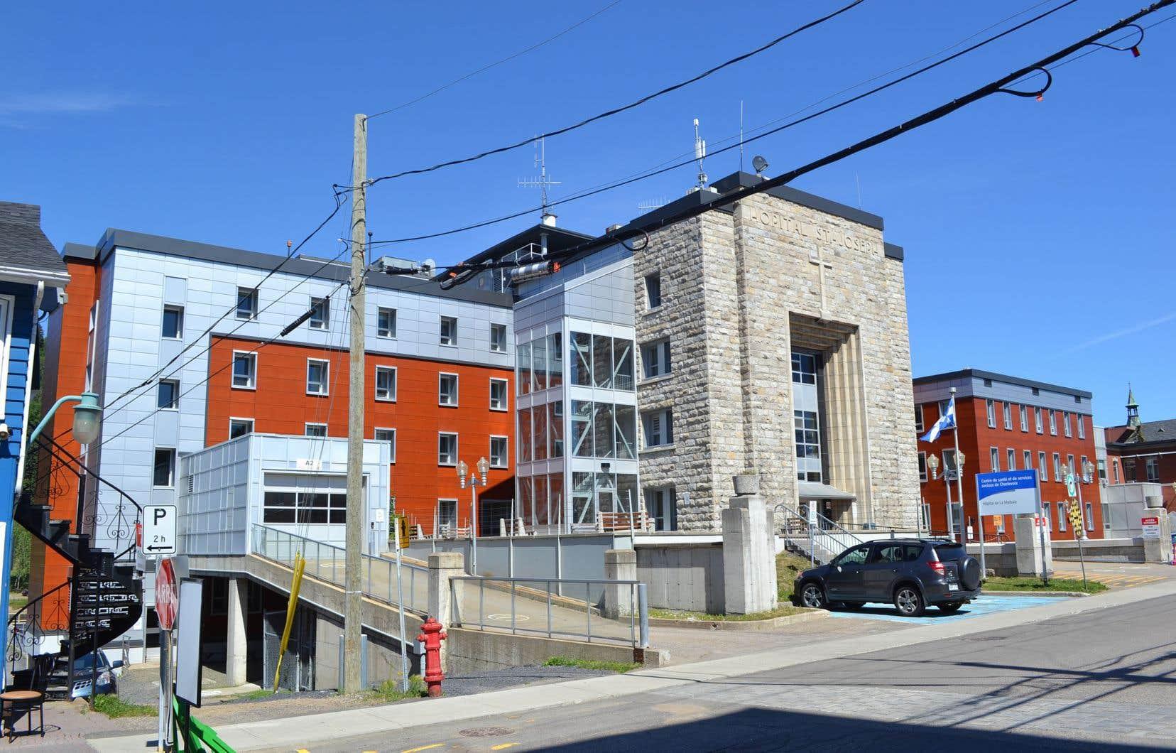 L'hôpital de La Malbaie à Quebec