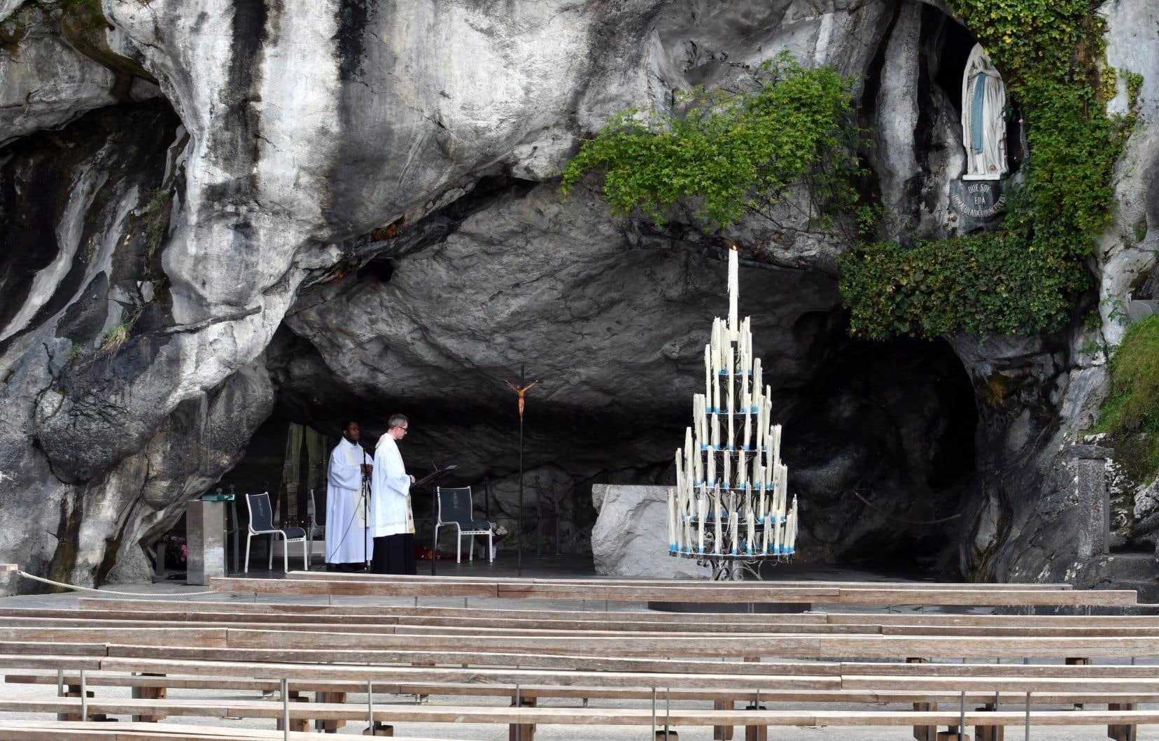 Le Sanctuaire de Lourdes est fermé depuis le 17mars et pour une durée indéterminée.