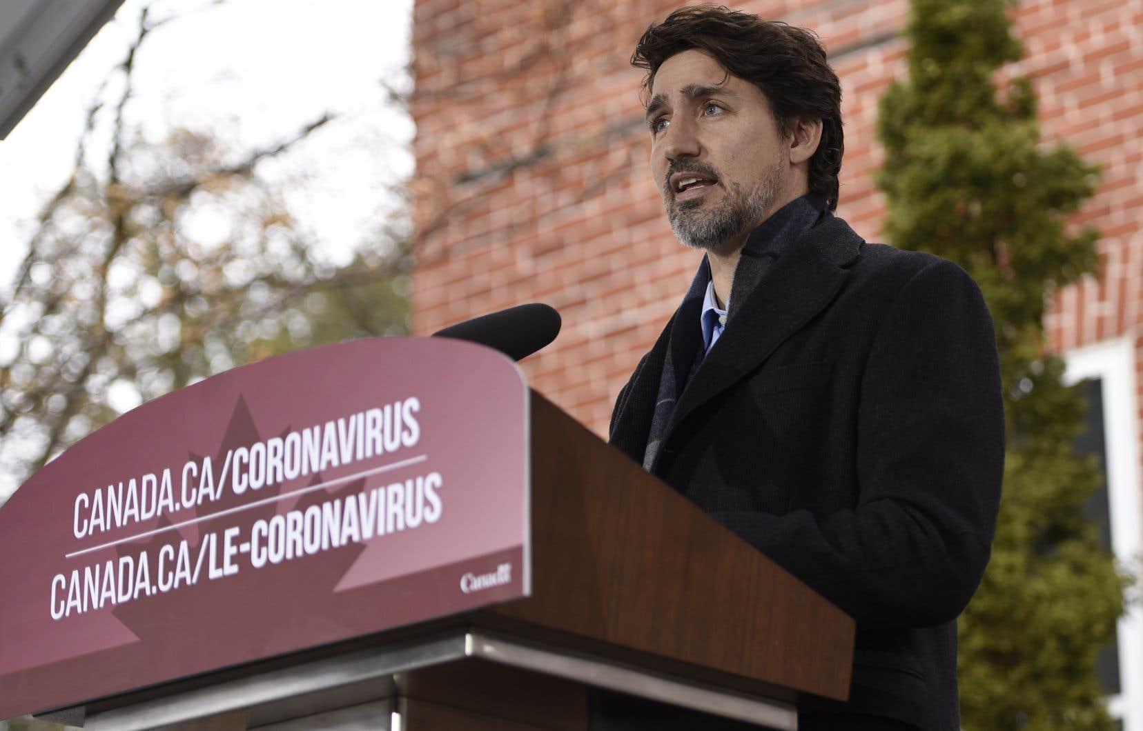 Le premier ministre Justin Trudeau a confirmé que le premier versement de la PCU sera versé en 3 à 5 jours.