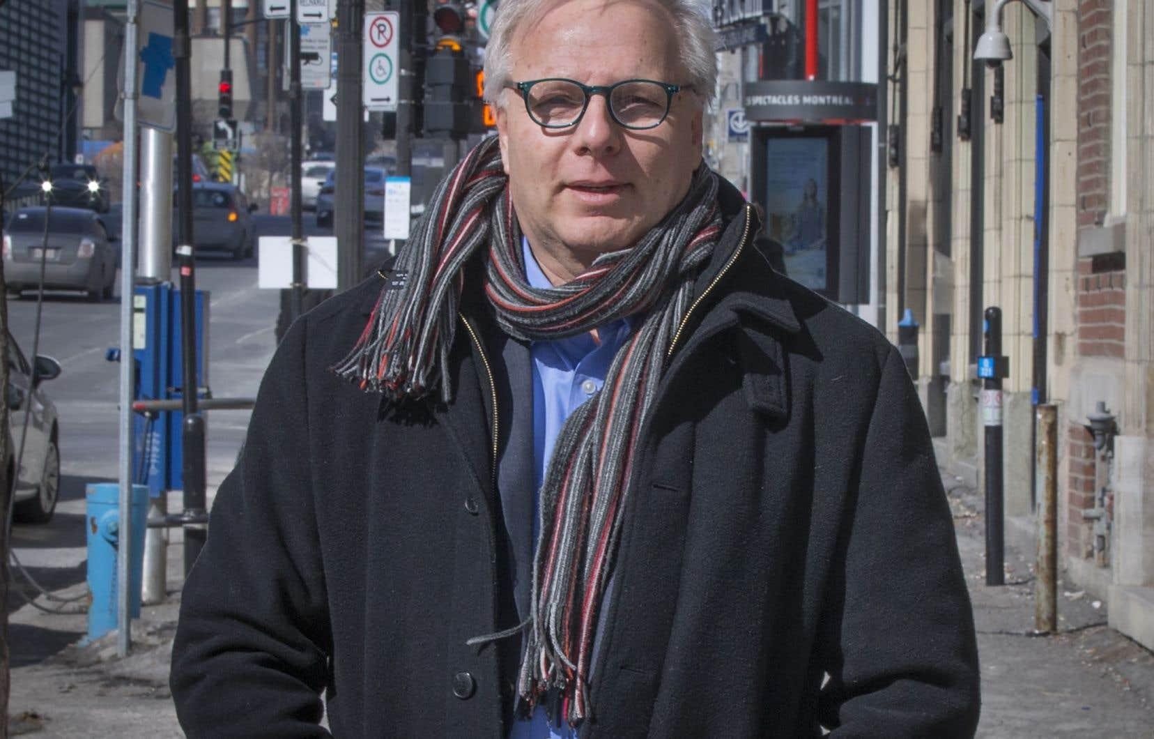 L'ancien chef du Parti québécois Jean-François Lisée