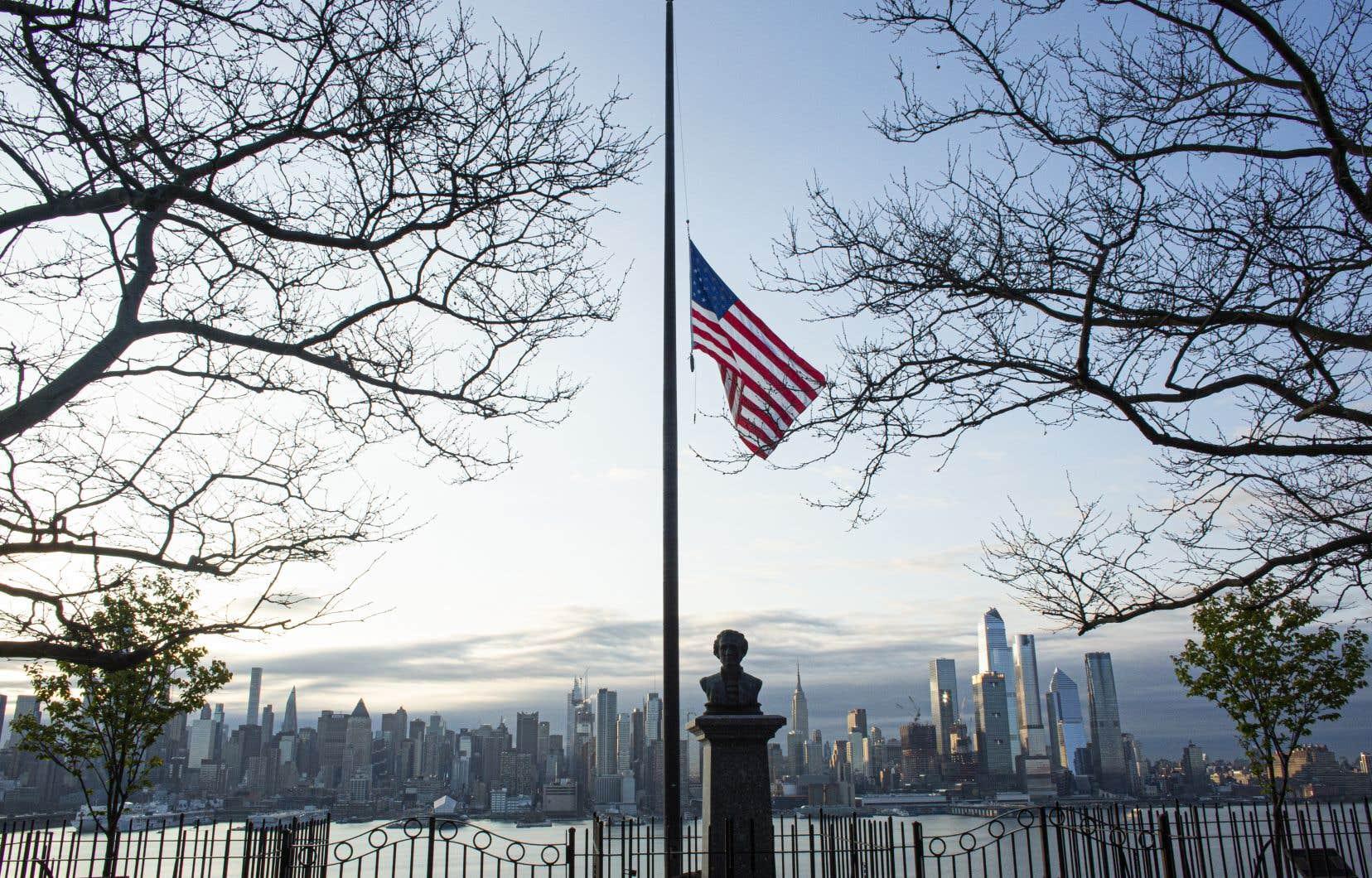 Les températures ont été plus élevées qu'à la normale dans l'est des États-Unis, notamment. Sur la photo, la ville de New York.