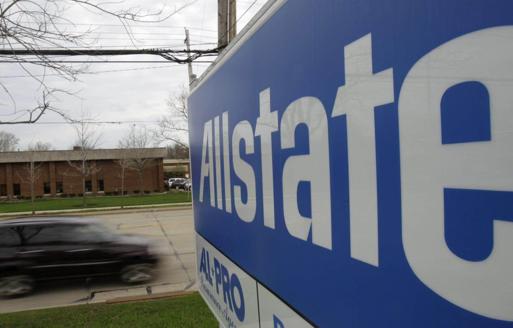 Les clients d'Allstate vont toucher environ 15% du montant de leur contrat en avril et en mai.