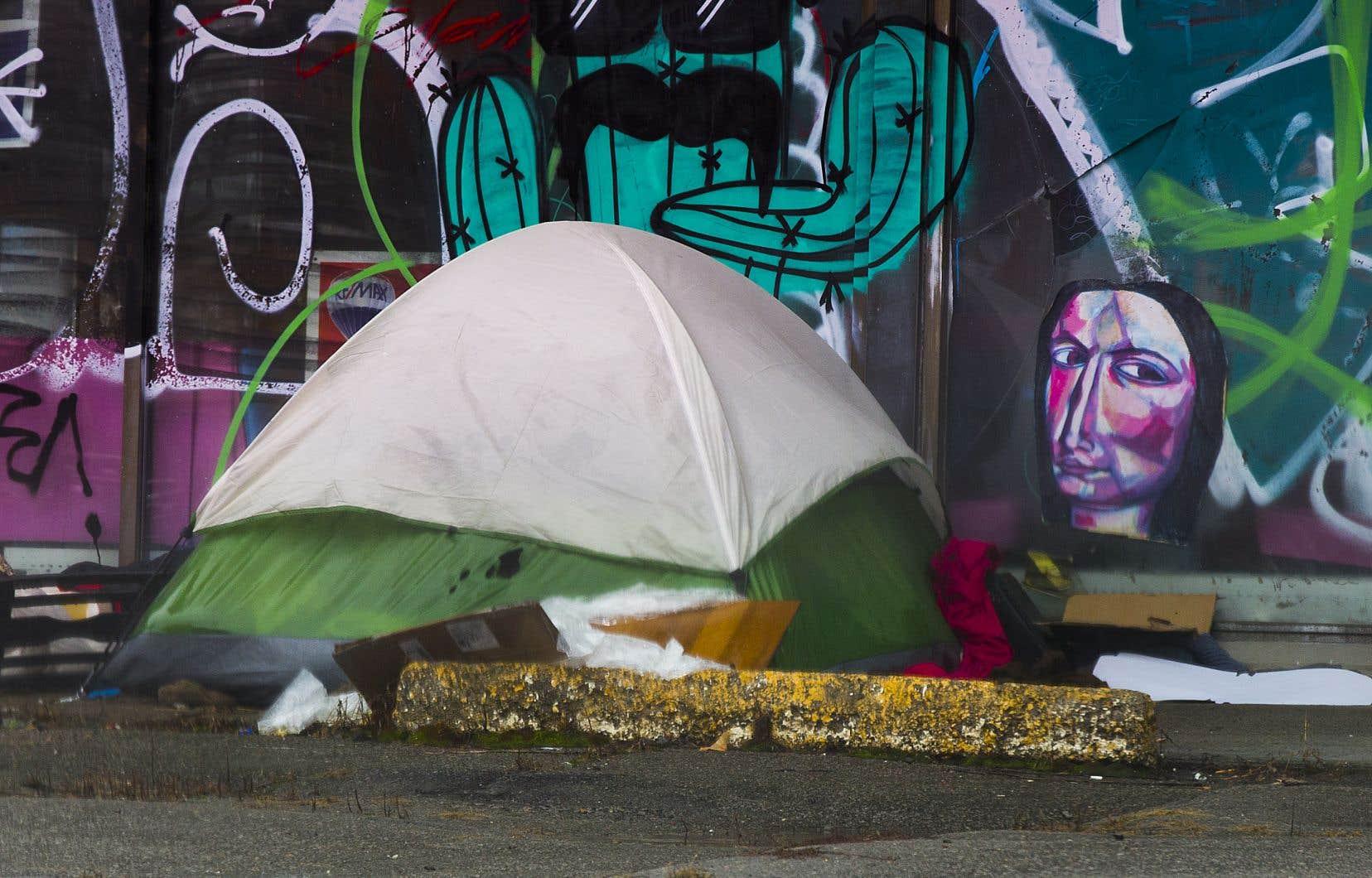L'organisme Plein Milieu entend commencer à distribuer des tentes à des itinérants.