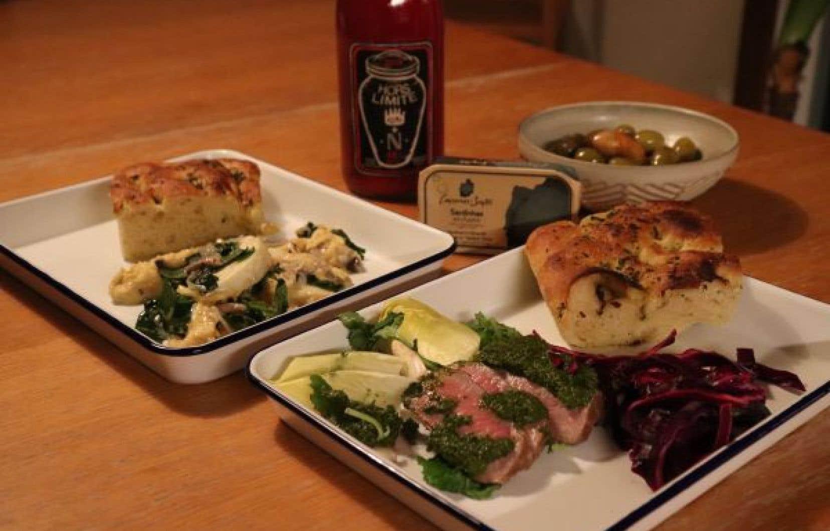 Le restaurant Sardines joue dans les talles de plats à partager.
