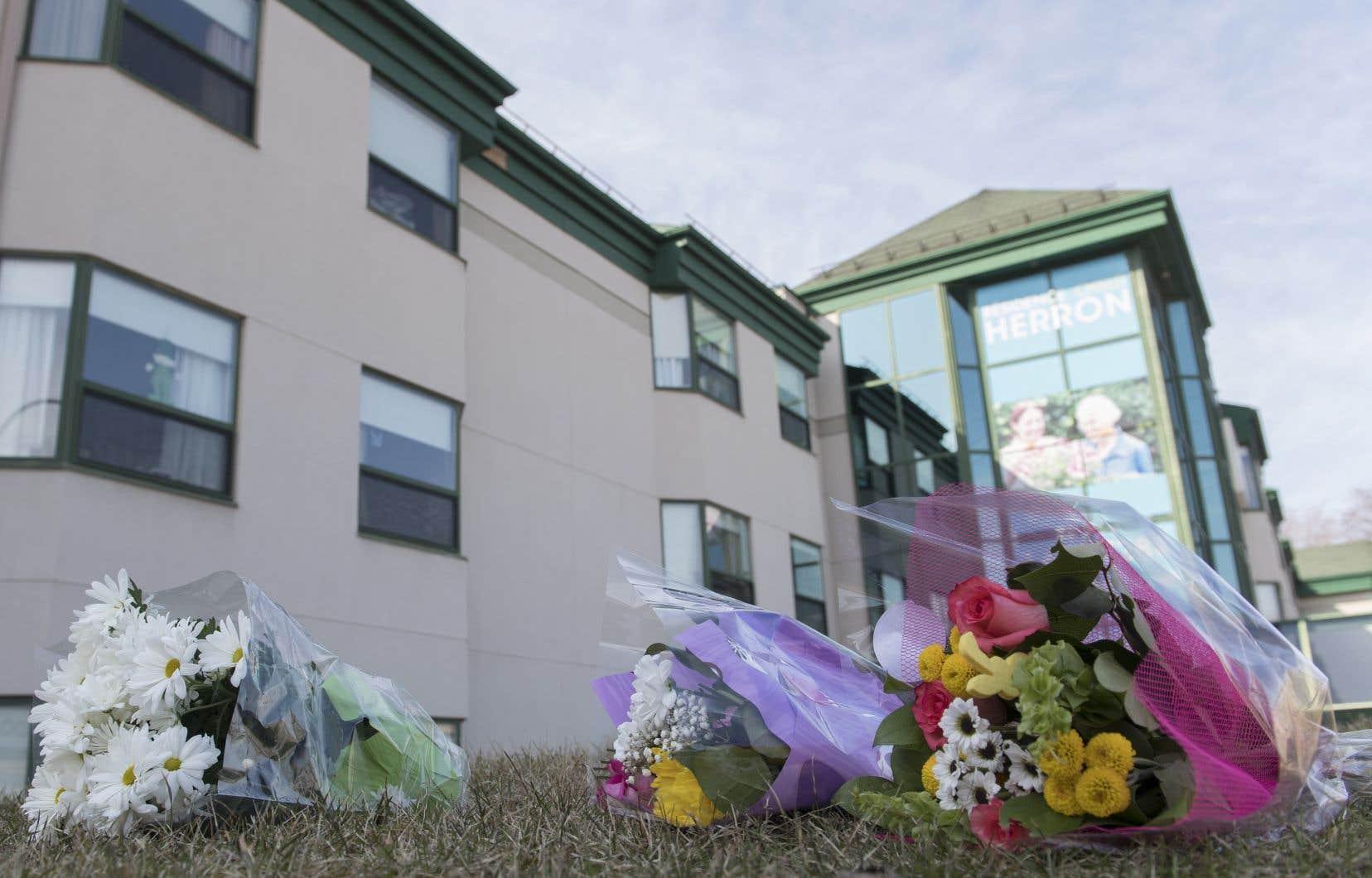 Depuis le 13mars, 31 des 150 résidents de ce CHSLD privé non conventionné sont décédés.