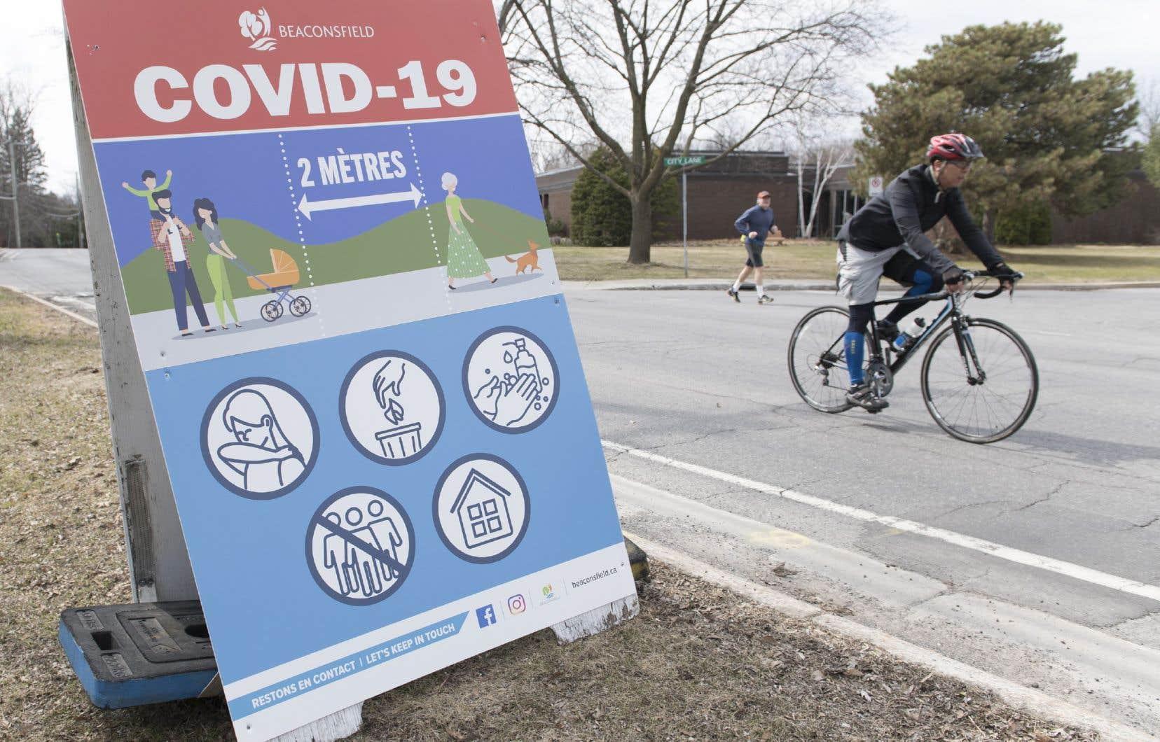 «Nous avons aussi une préoccupation pour les interactions entre les piétons et les cyclistes, et pour la sécurité des cyclistes, ces derniers étant aussi parfois contraints de prendre la rue pour éviter des pistes cyclables empruntées par les piétons en manque d'espace», mentionne l'autrice.