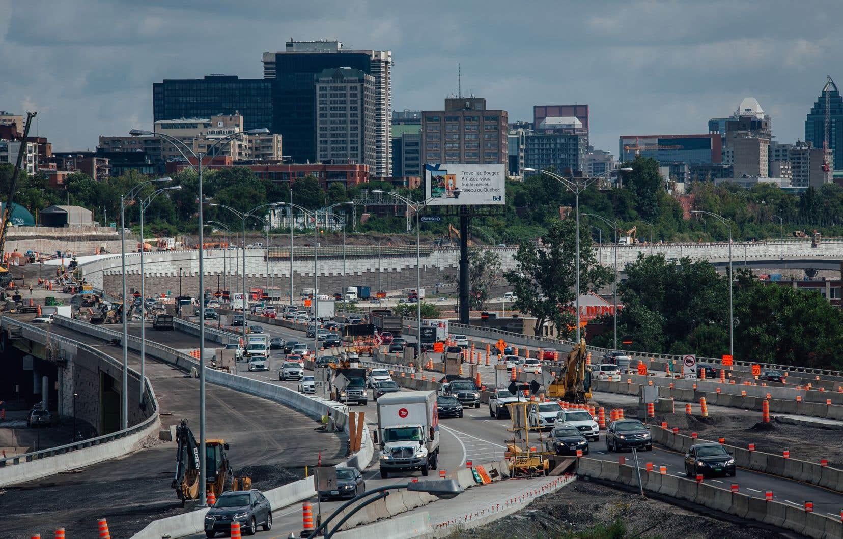 Les protestations suscitées par le tracé du nouvel échangeur Turcot dans le quartier Saint-Henri à Montréal (ici  en août dernier), ont finalement été assez peu prises en compte.