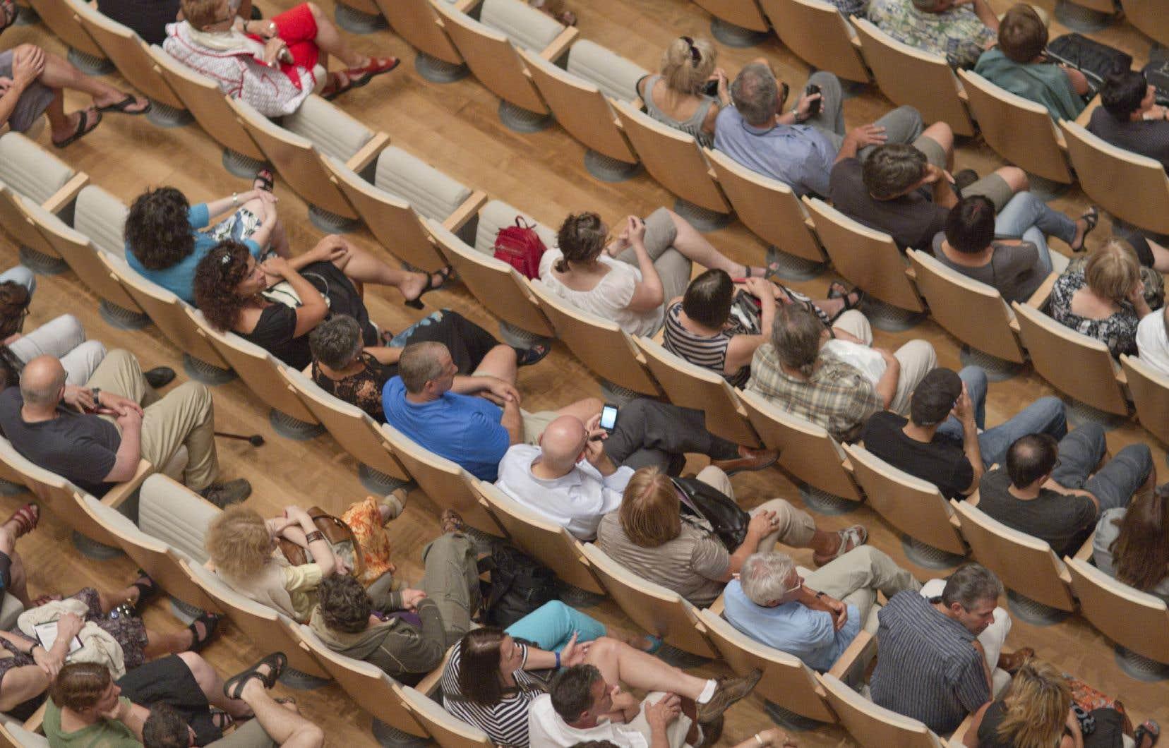 Les salles de spectacles doivent généralement être pleines à 70%, un taux d'occupation qui peut compromettre le respect de la distanciation sociale.