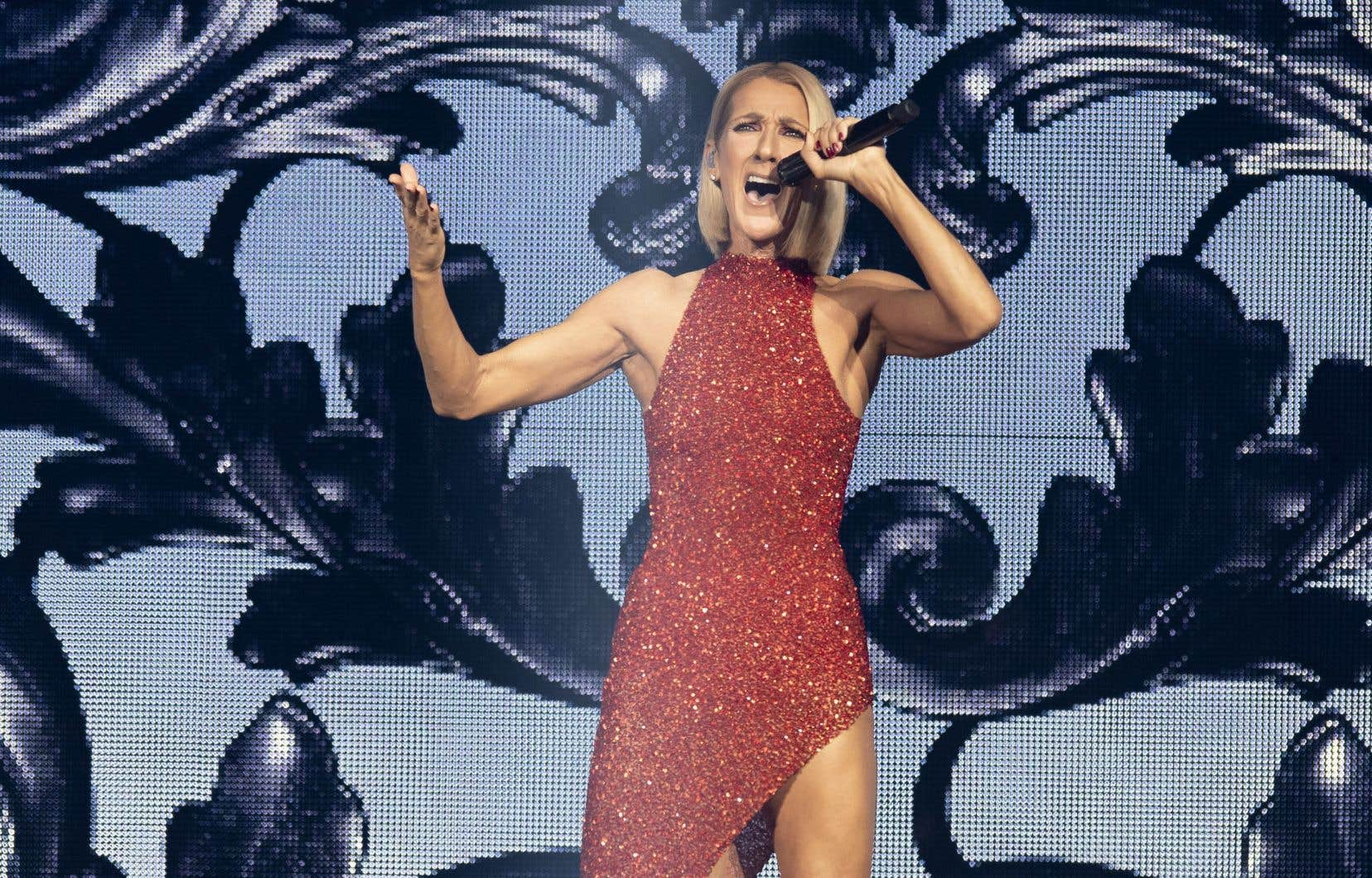 Céline Dion fait partie de la longue liste d'artistes qui vont chanter depuis chez eux.