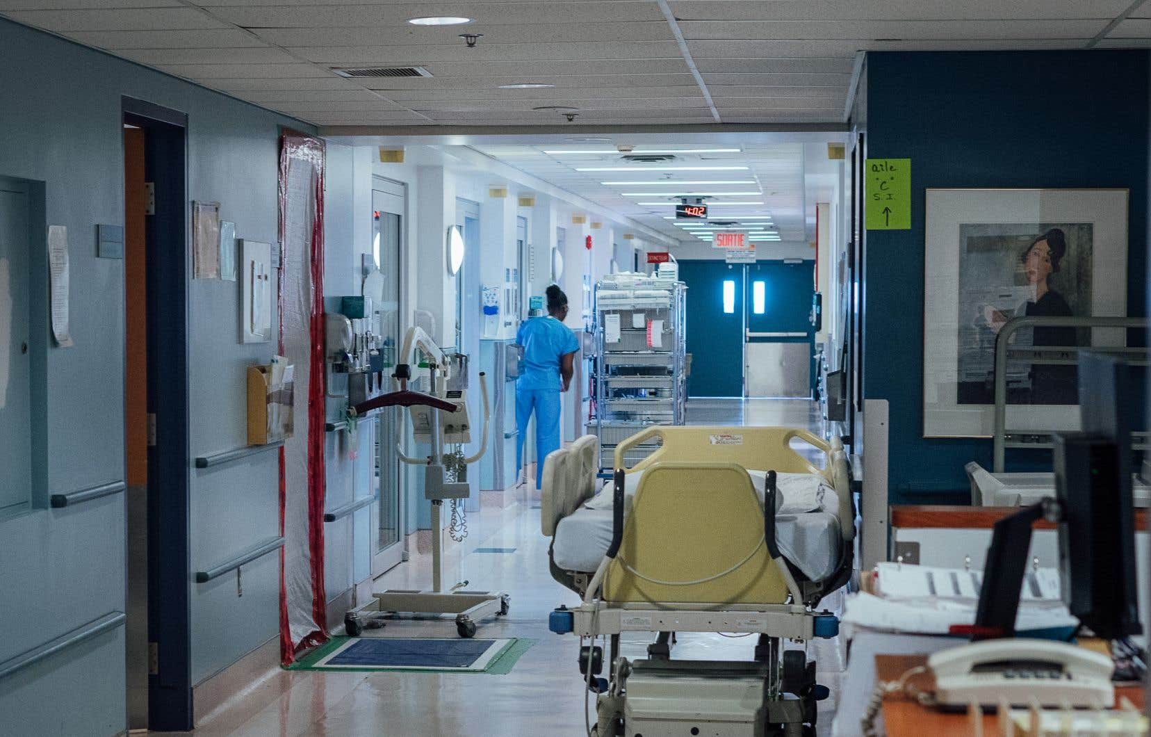 Les personnes contaminées par la COVID-19 qui doivent être hospitalisées le sont d'abord parce qu'elles ont besoin d'oxygène.