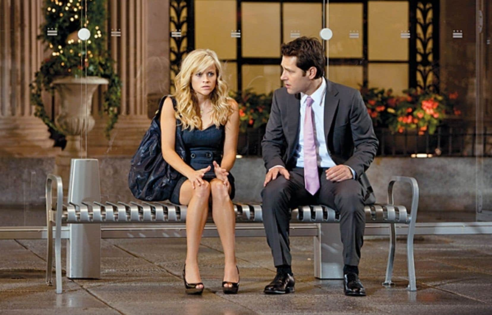 Reese Witherspoon et Paul Rudd.<br />
