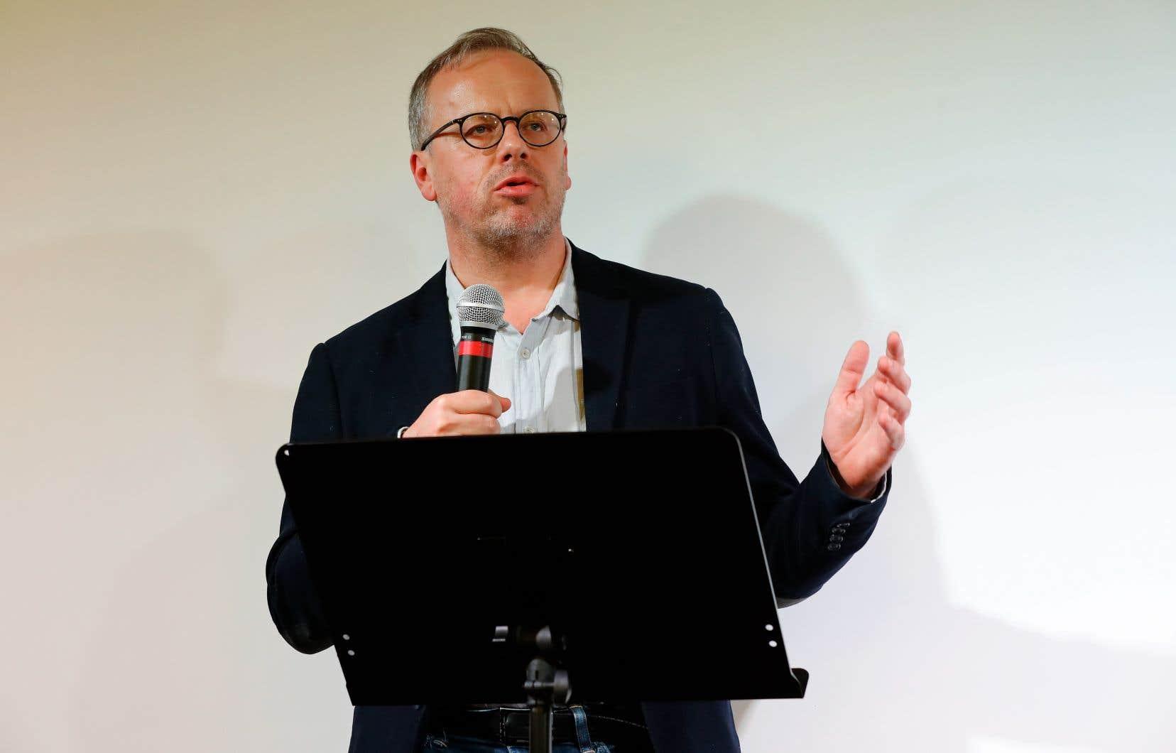 Le secrétaire général de Reporters sans frontières, Christophe Deloire