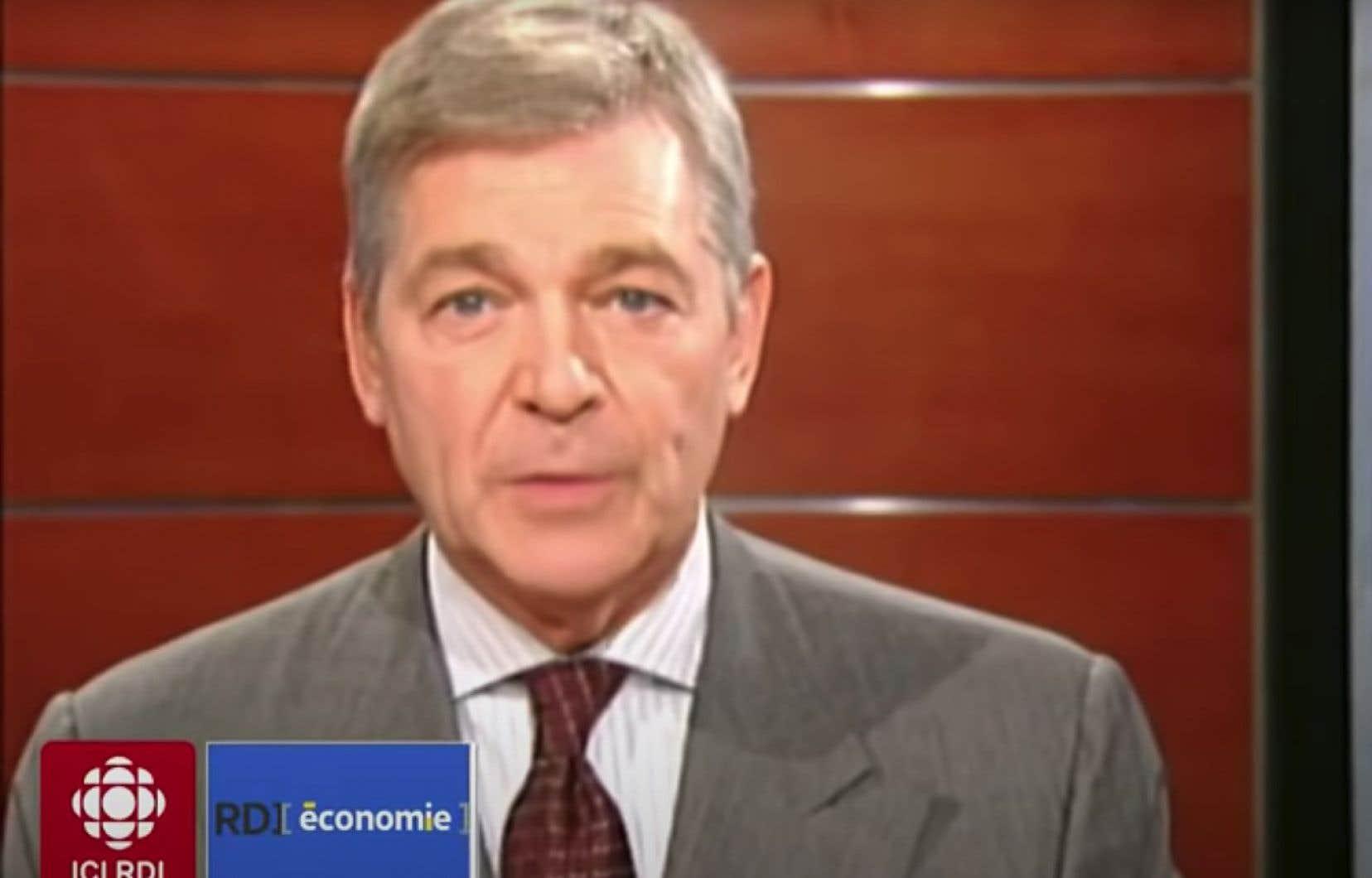 Le journaliste économiste Claude Beauchamp