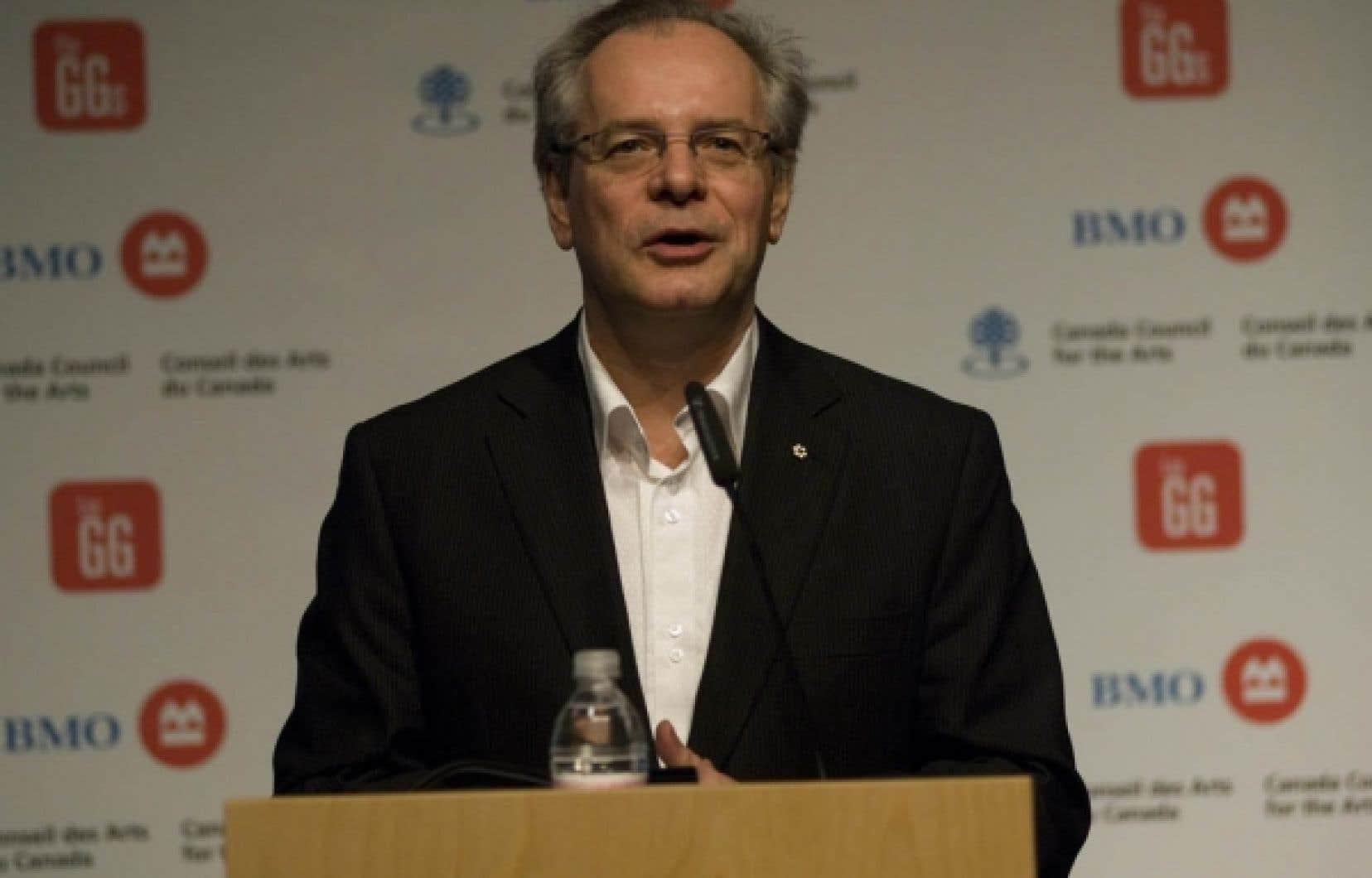 Simon Brault, vice-président du Conseil des arts du Canada<br />