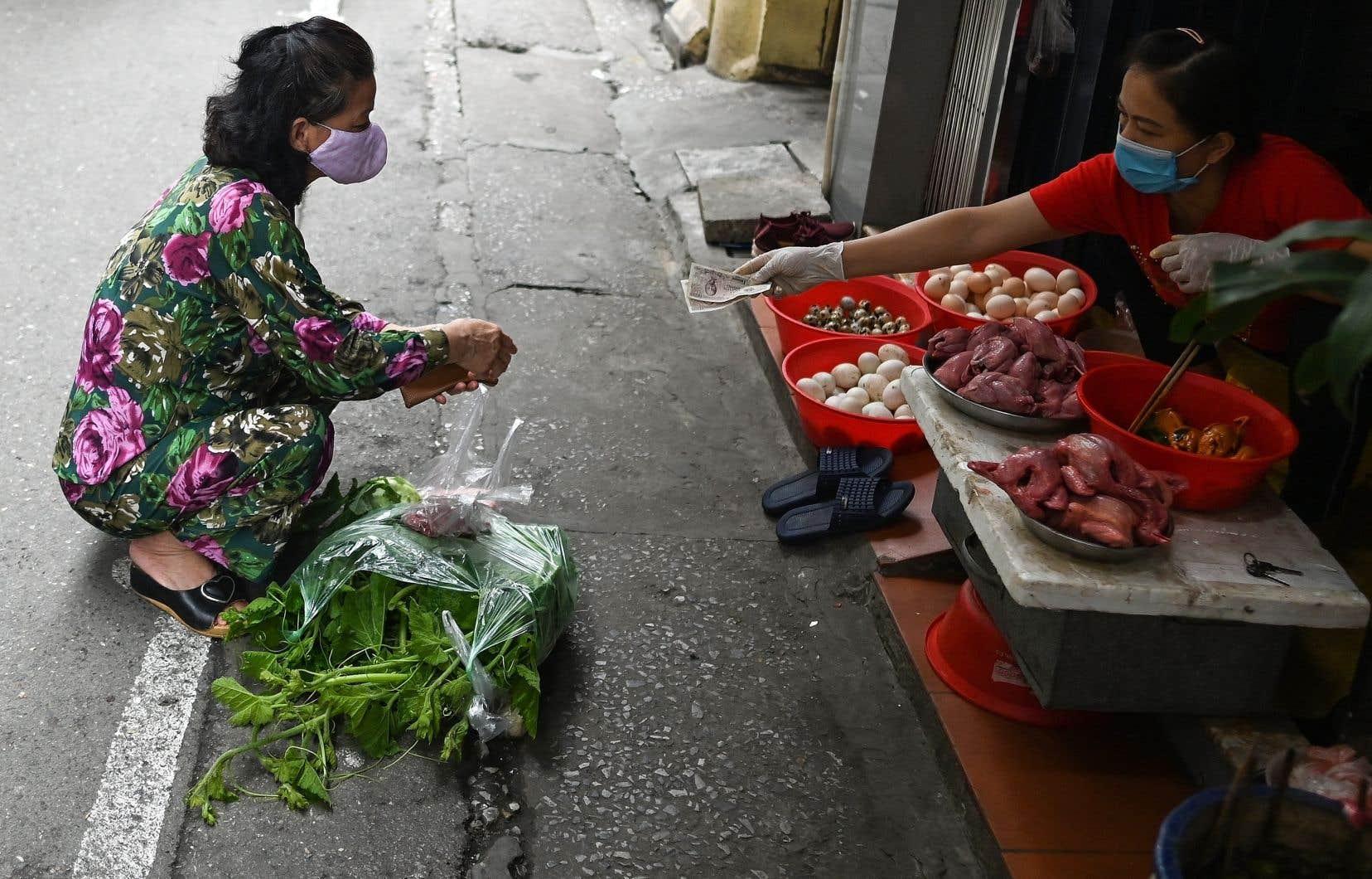 À trois heures d'avion de Wuhan, en Chine, point de départ de la pandémie, le Vietnam ne déclarait, au 22avril, pas plus de 270 cas d'infection pour une population de 95millions de personnes.
