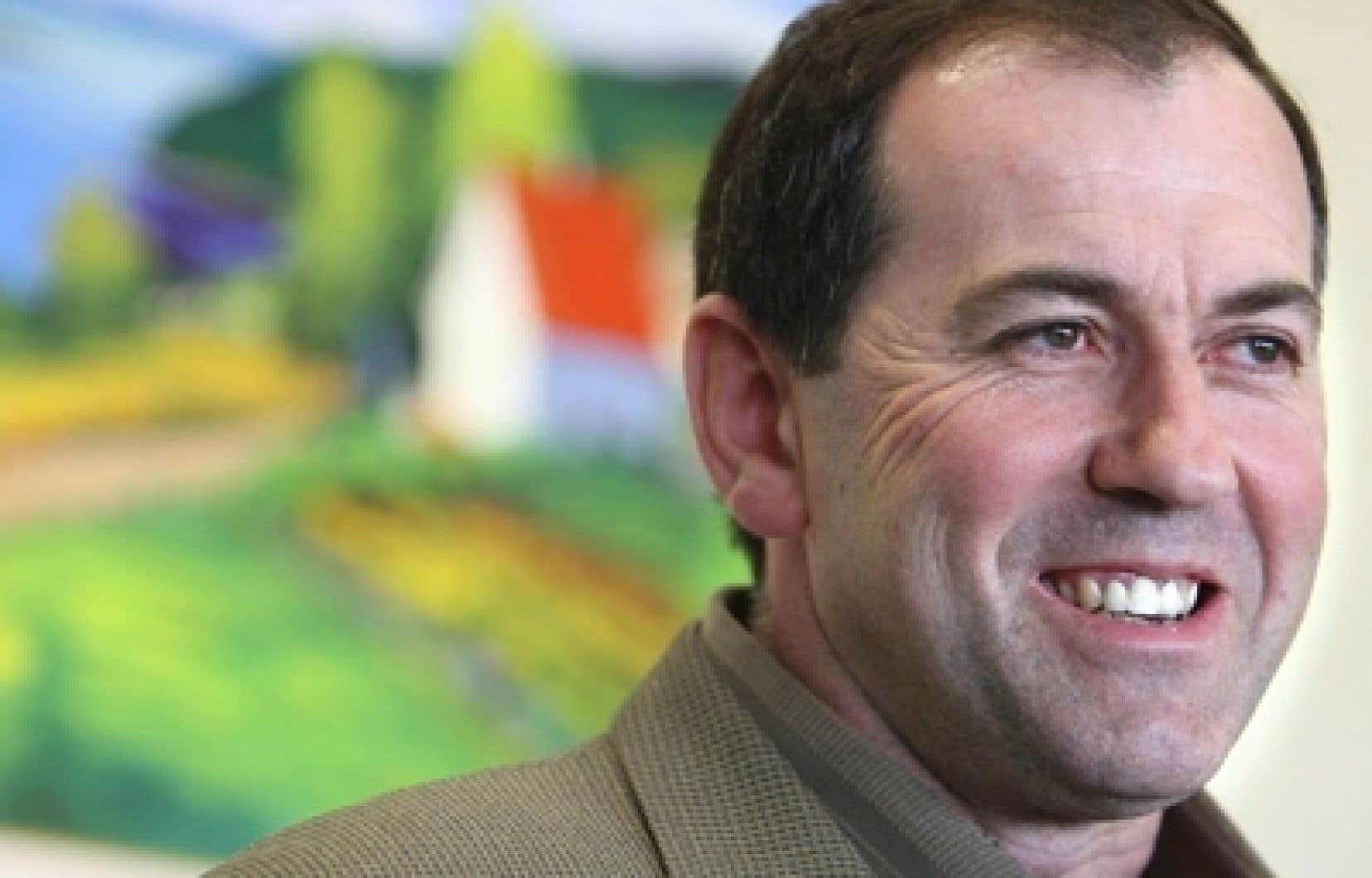 Christian Lacasse, président de l'Union des producteurs agricoles