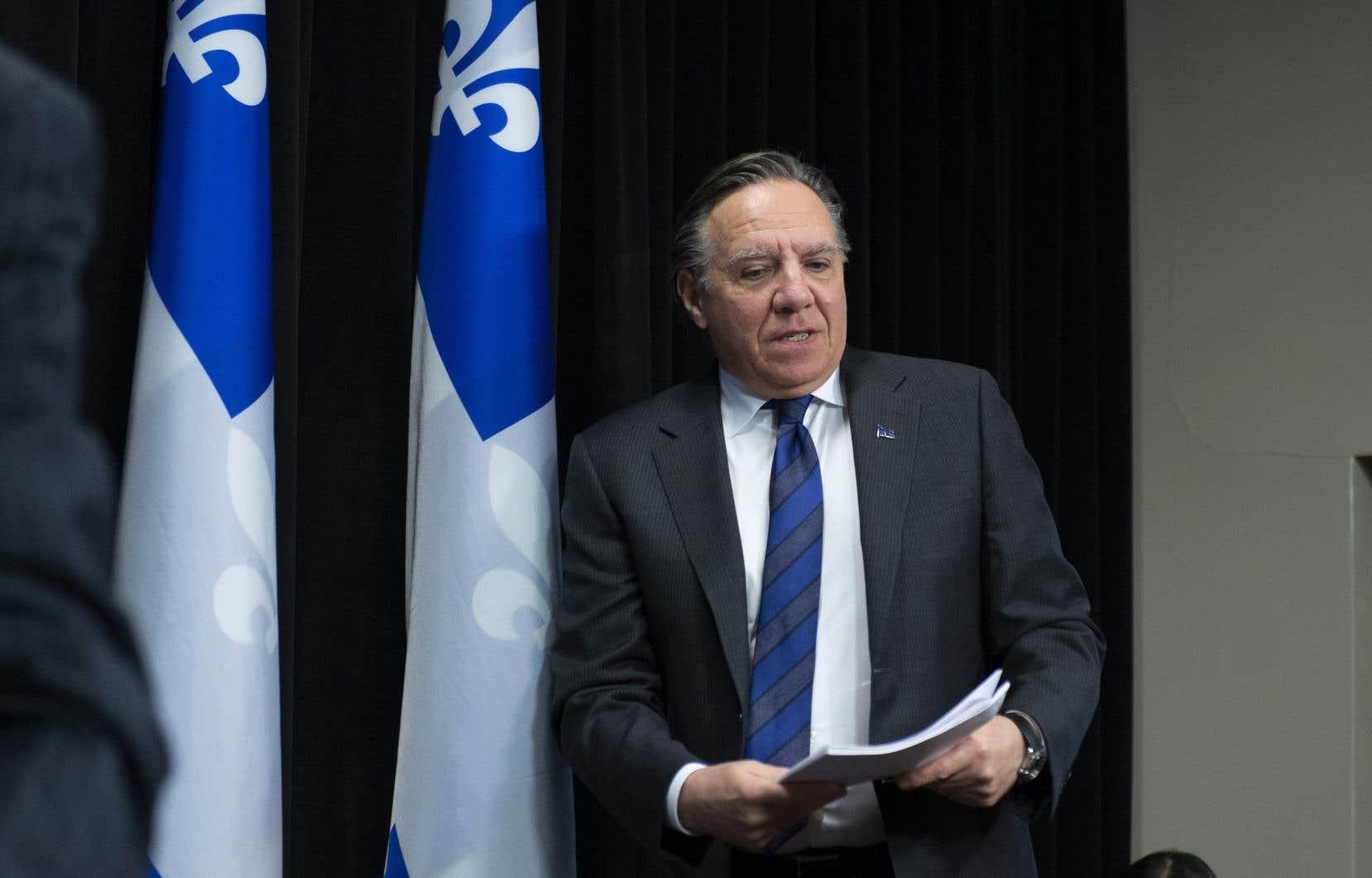 Le premier ministre François Legault fait le point sur la pandémie de coronavirus.