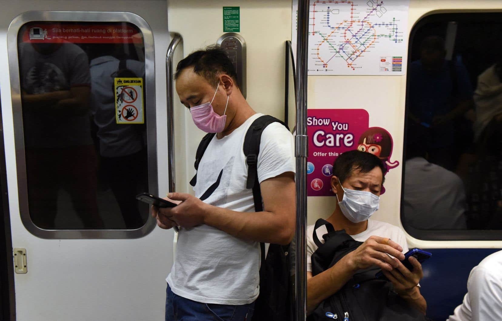 À Singapour, ville ultra-connectée, à peine plus de 20% de la population utilise une application de «contact tracing».