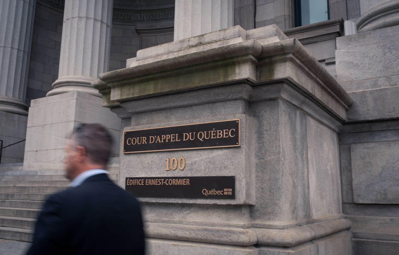 Nicole Duval Hesler était la juge en chef de la Cour d'appel du Québec jusqu'au 8 avril dernier.